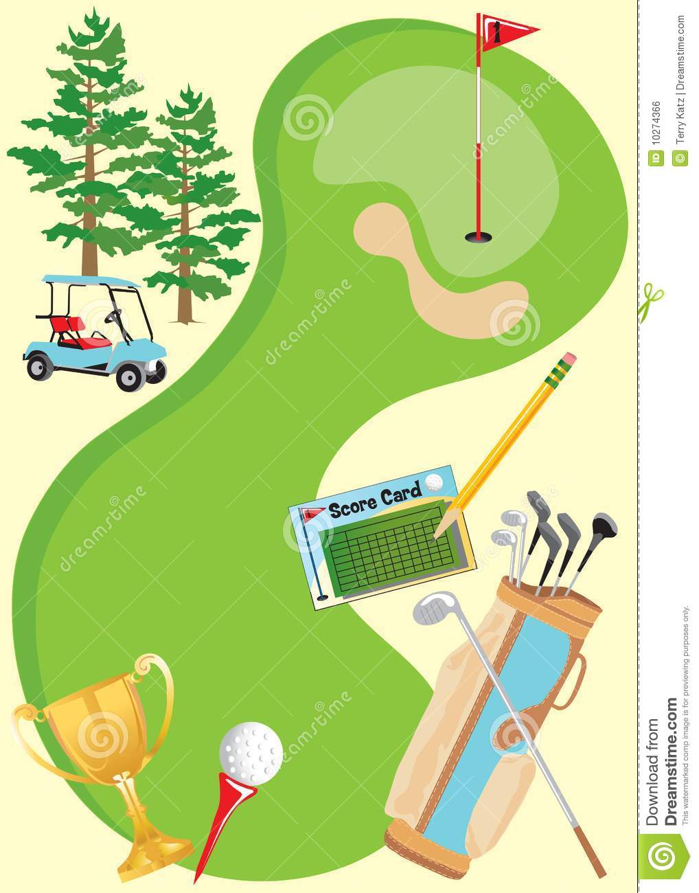 Golf Invitation Poster Royalty Free Image Image 10274366 – Free Event Invitation Templates