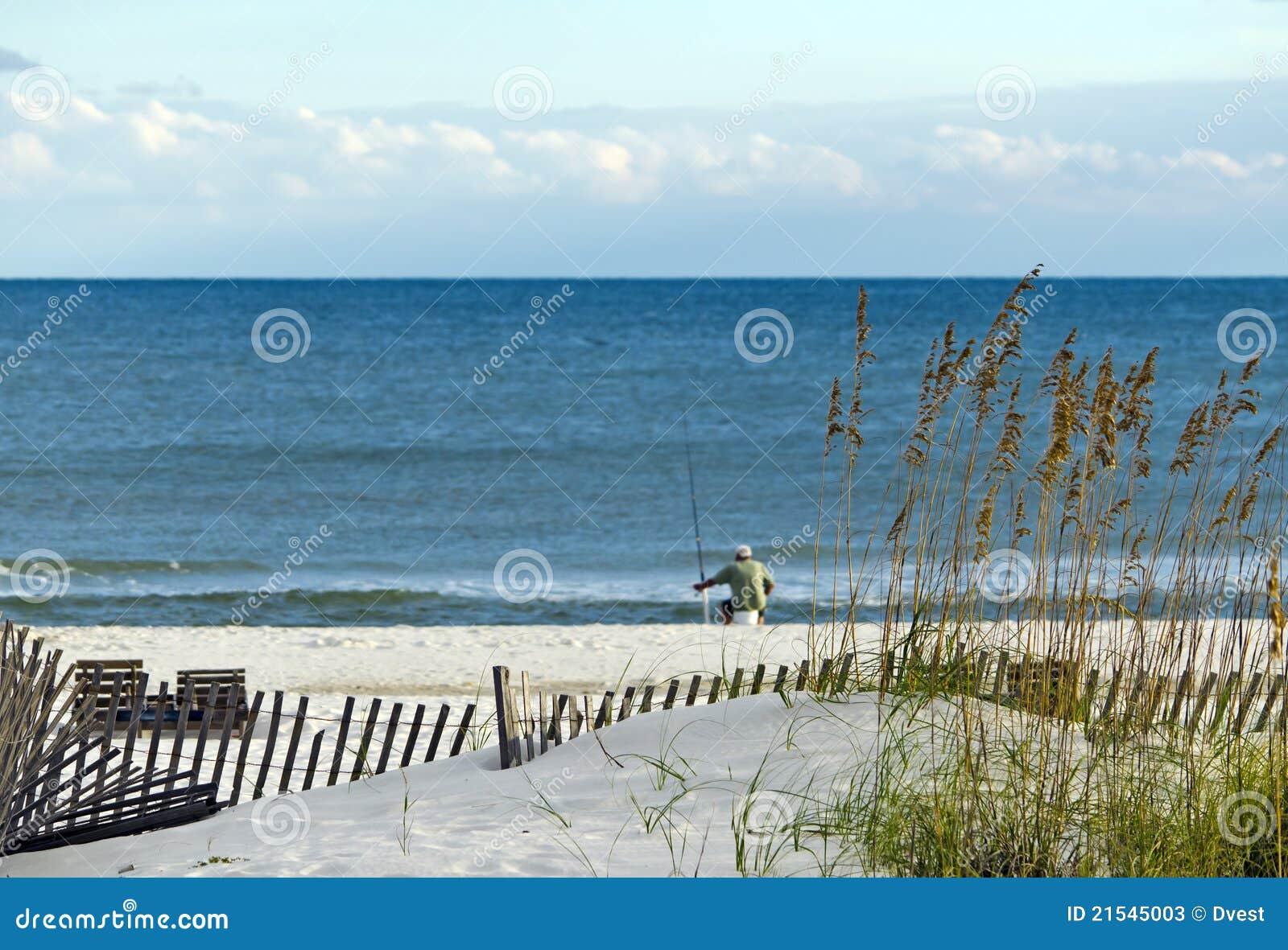 Golf-Küste-Szene