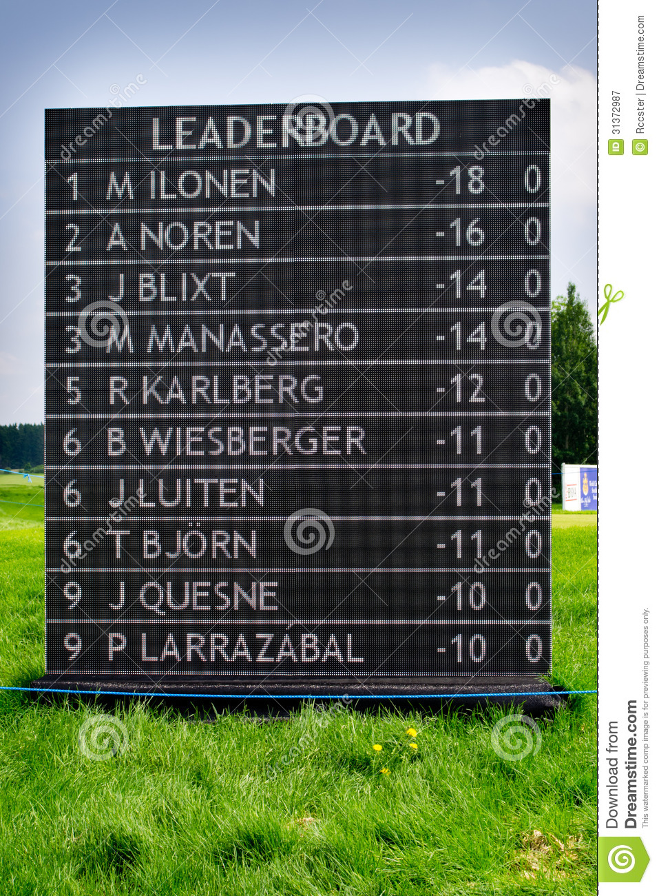 Pga Tour The Masters Leaderboard