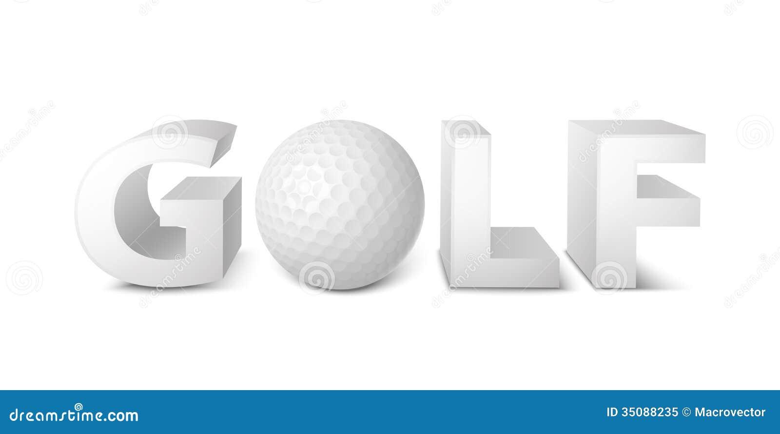 golf logo royalty free stock photo image 35088235