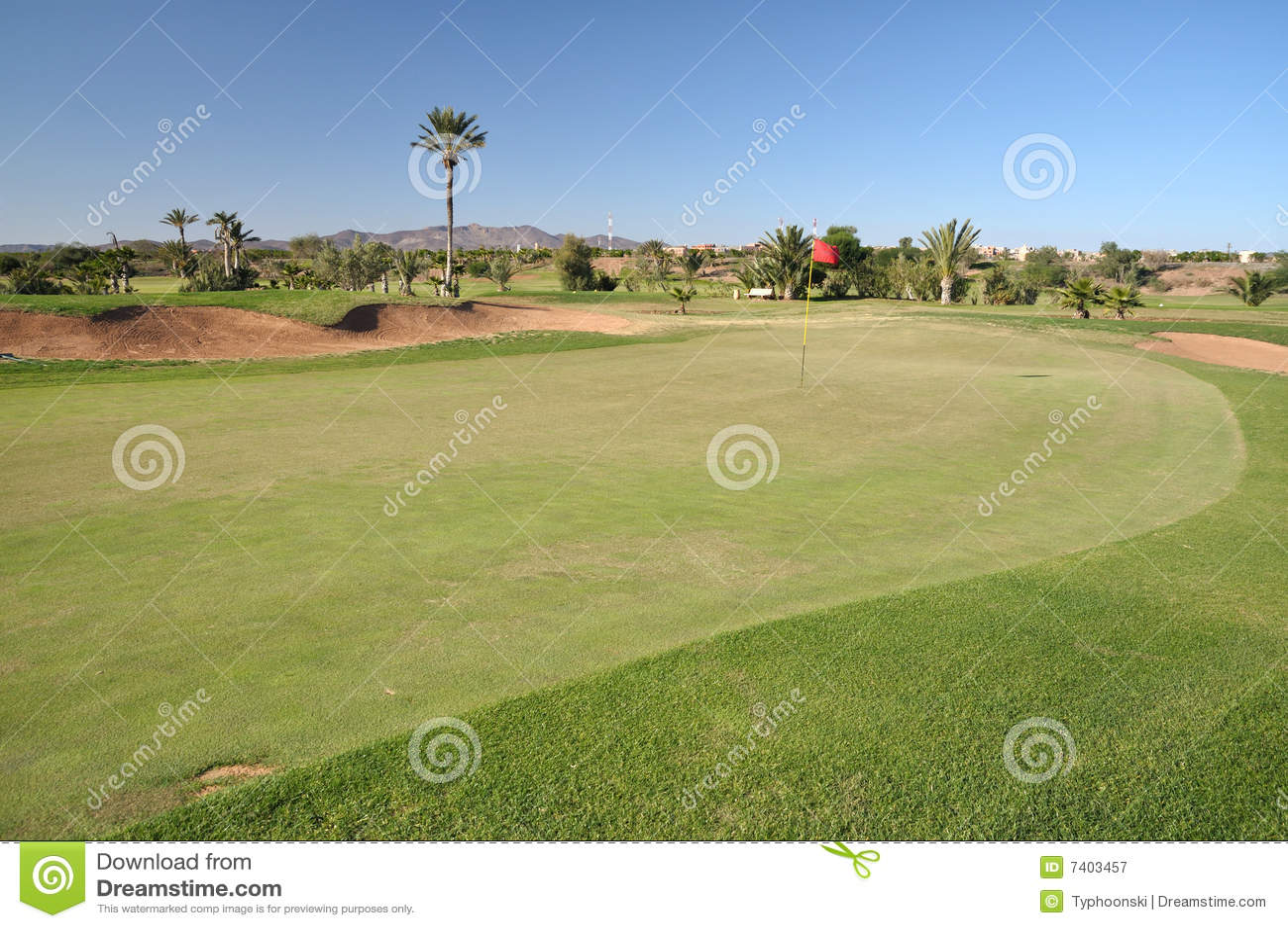 Golf Marrakech de cours