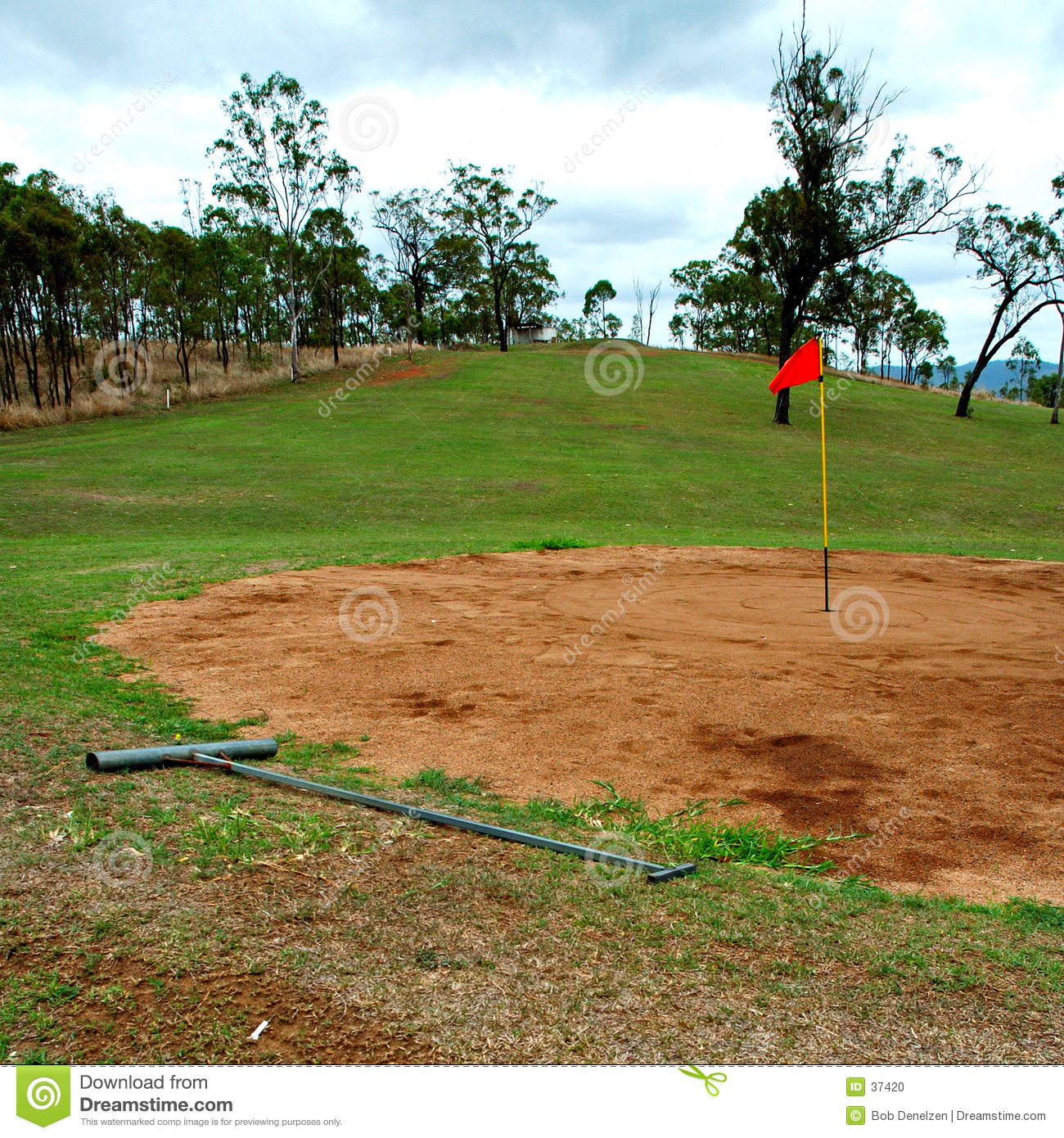 Golf outback