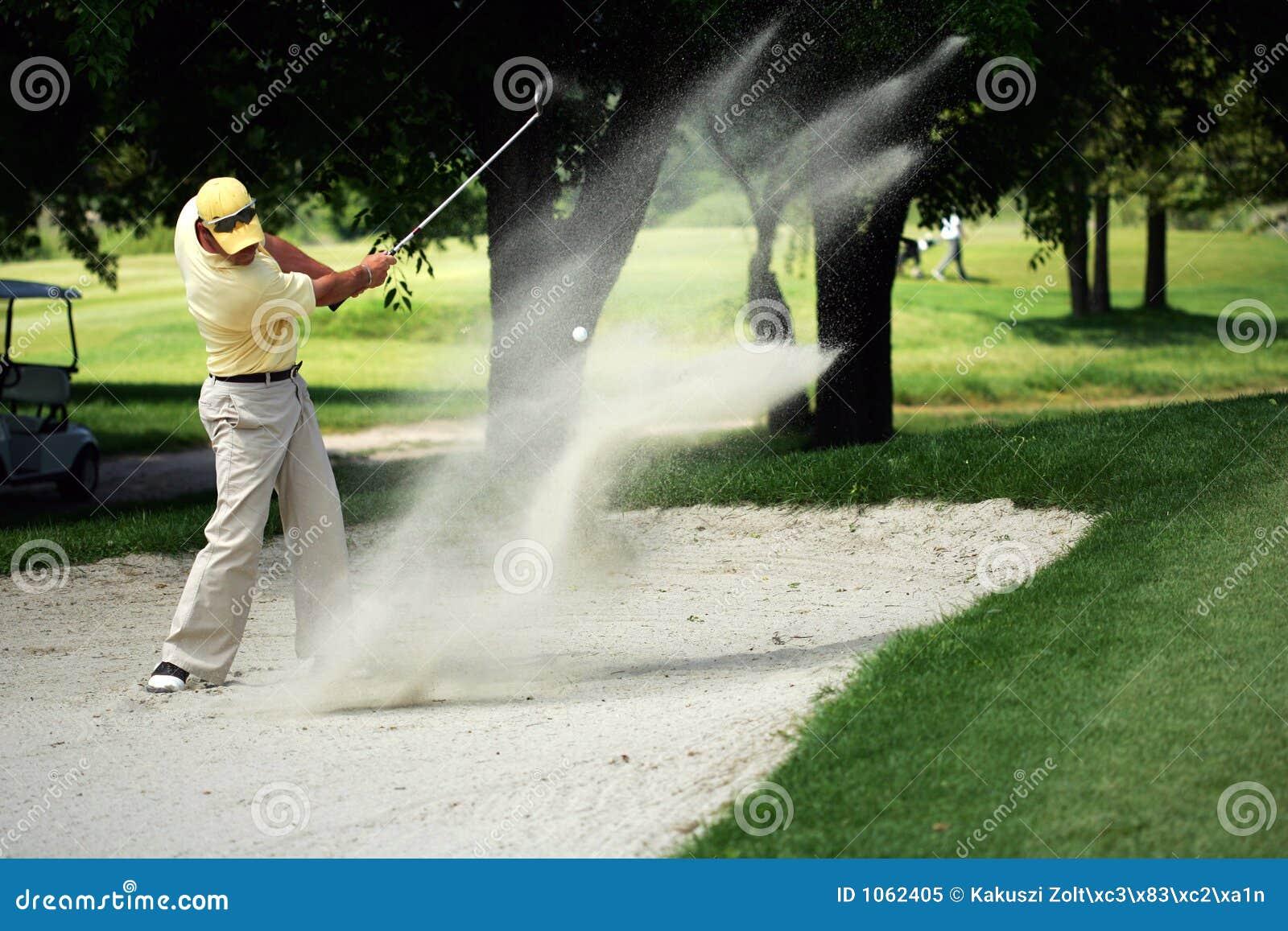 Golf senden Technik