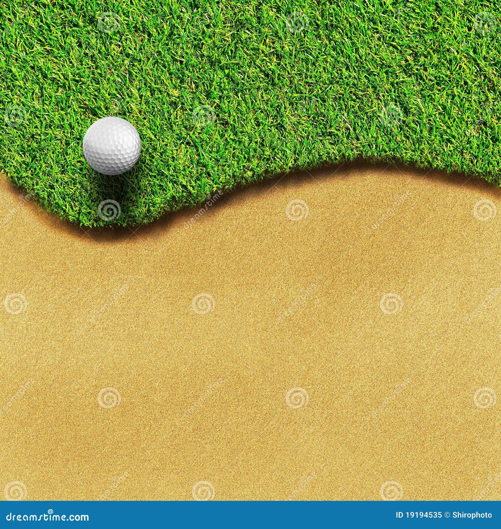 Golf sul corso dell erba