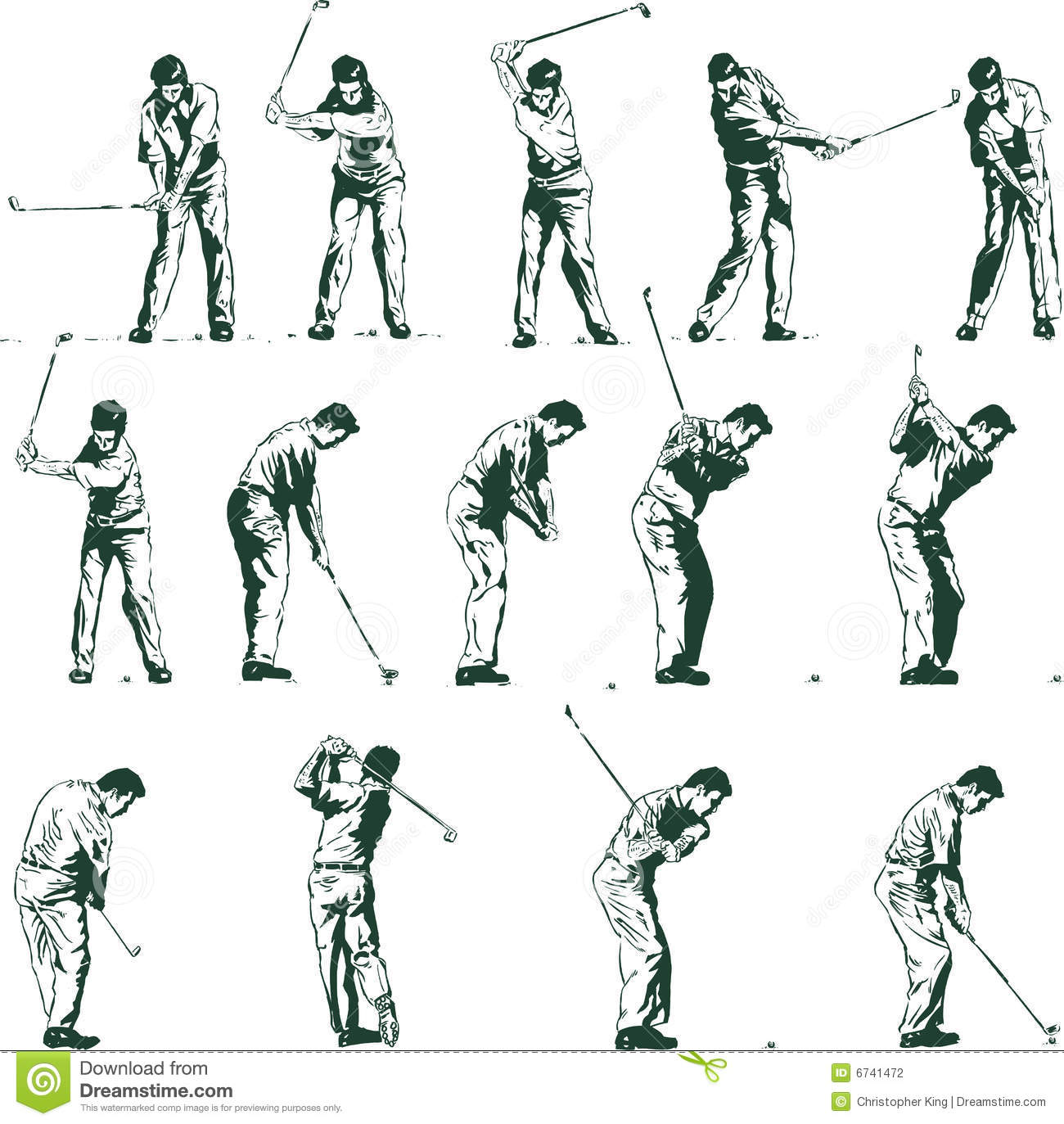 how to follow through on a golf swing