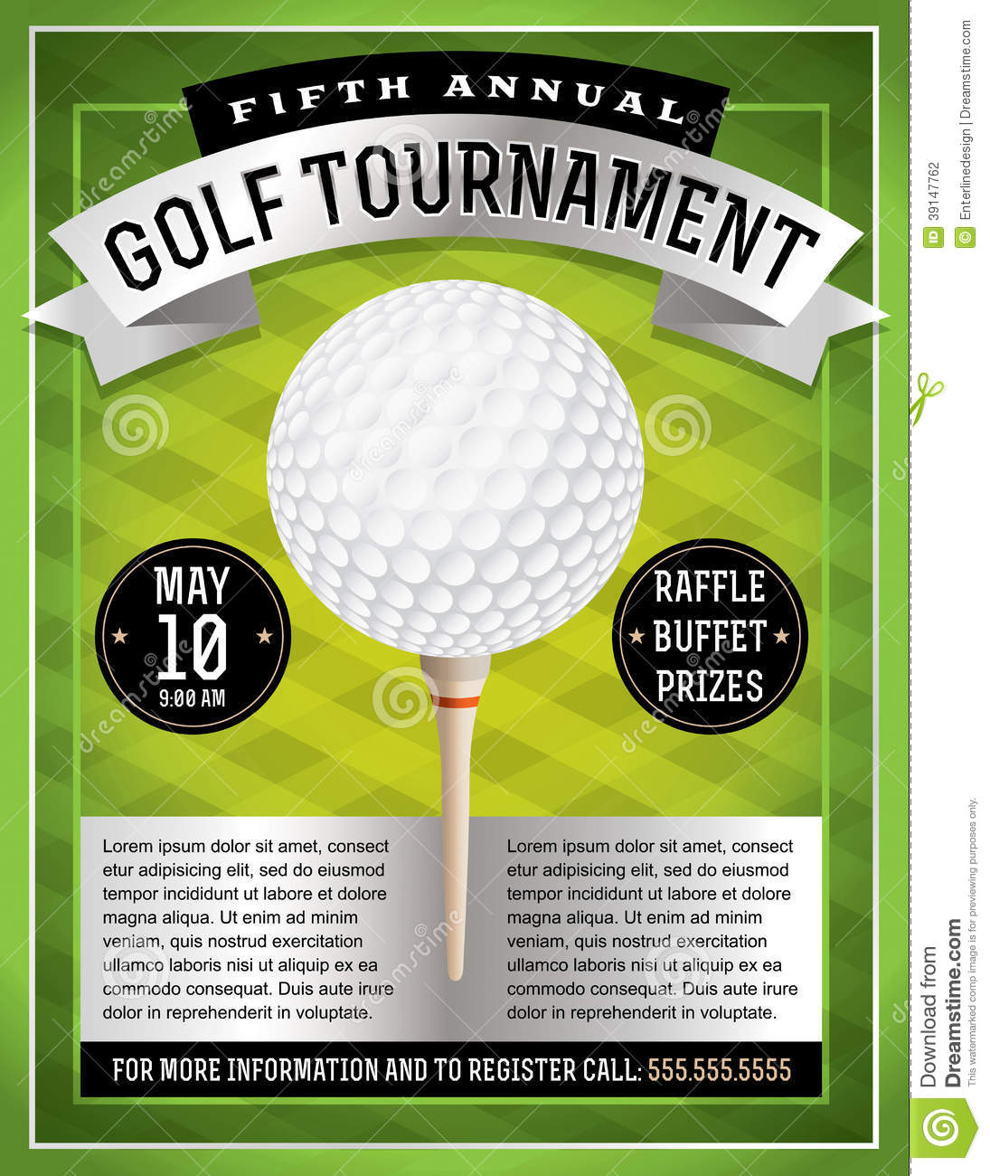 golf tournament flyer examples - Funf.pandroid.co