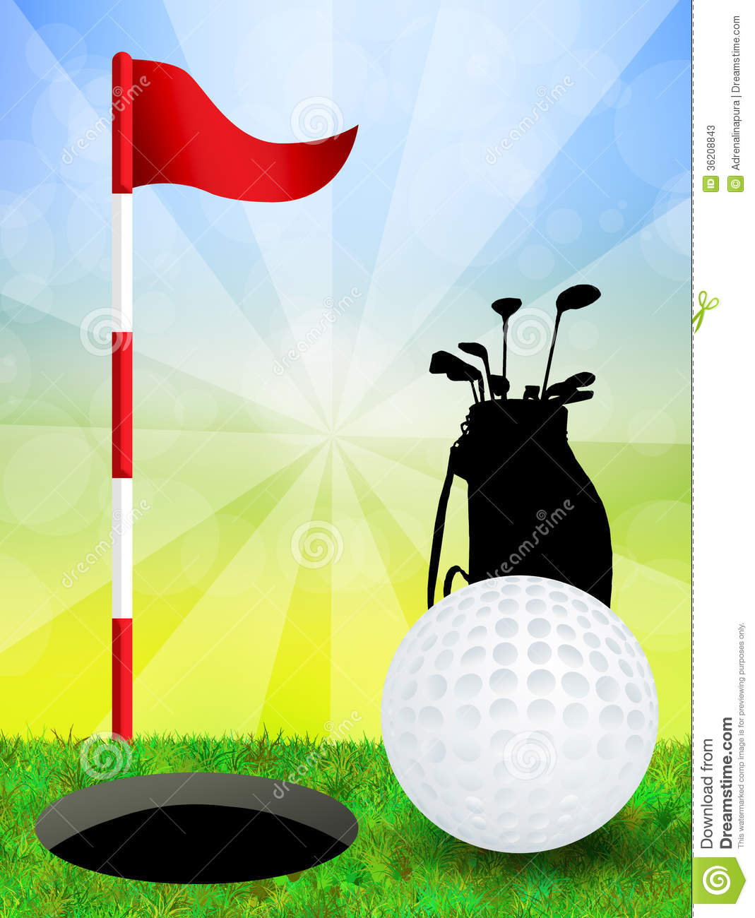 Vintage Golf Stock Photos Images Royalty Free Vintage