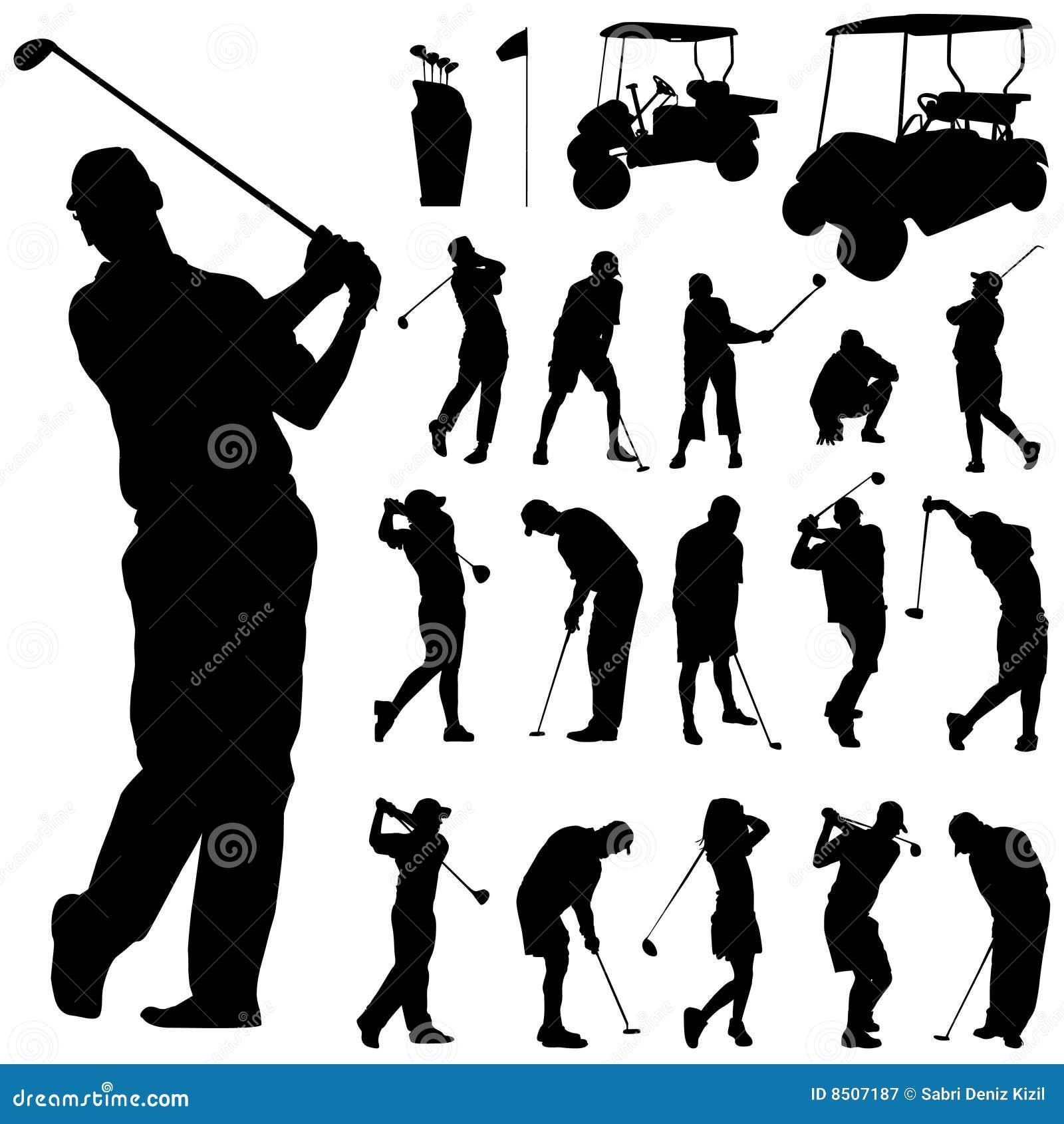 Golf Vector Stock Vector Illustration Of Area Target 8507187