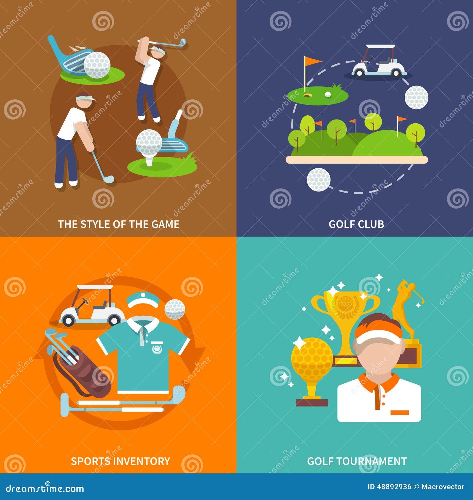 Golf vlakke reeks