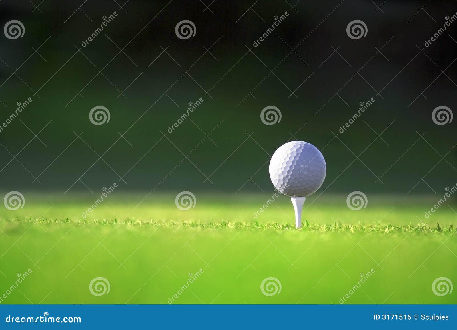 Golfball Royalty Free Stock Image - Image: 3171516