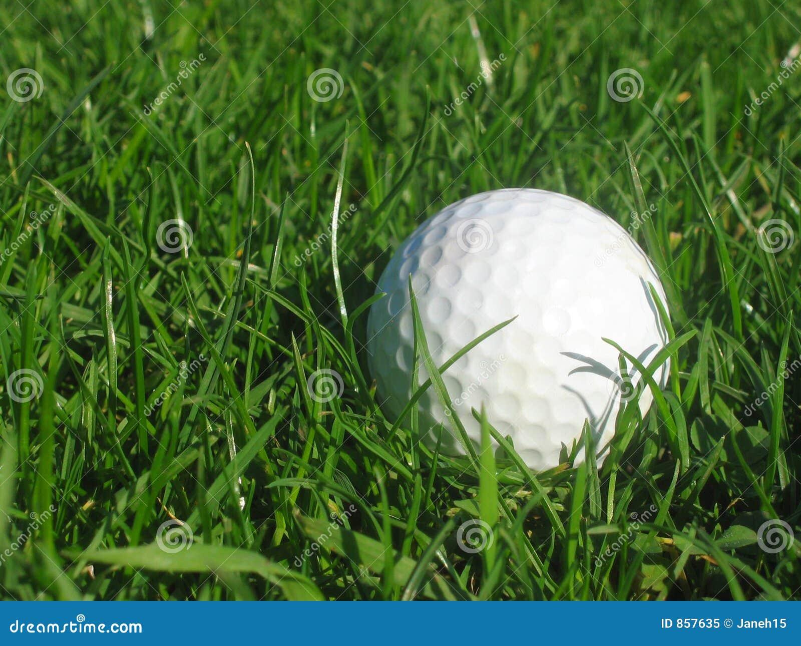 Golfball in erba