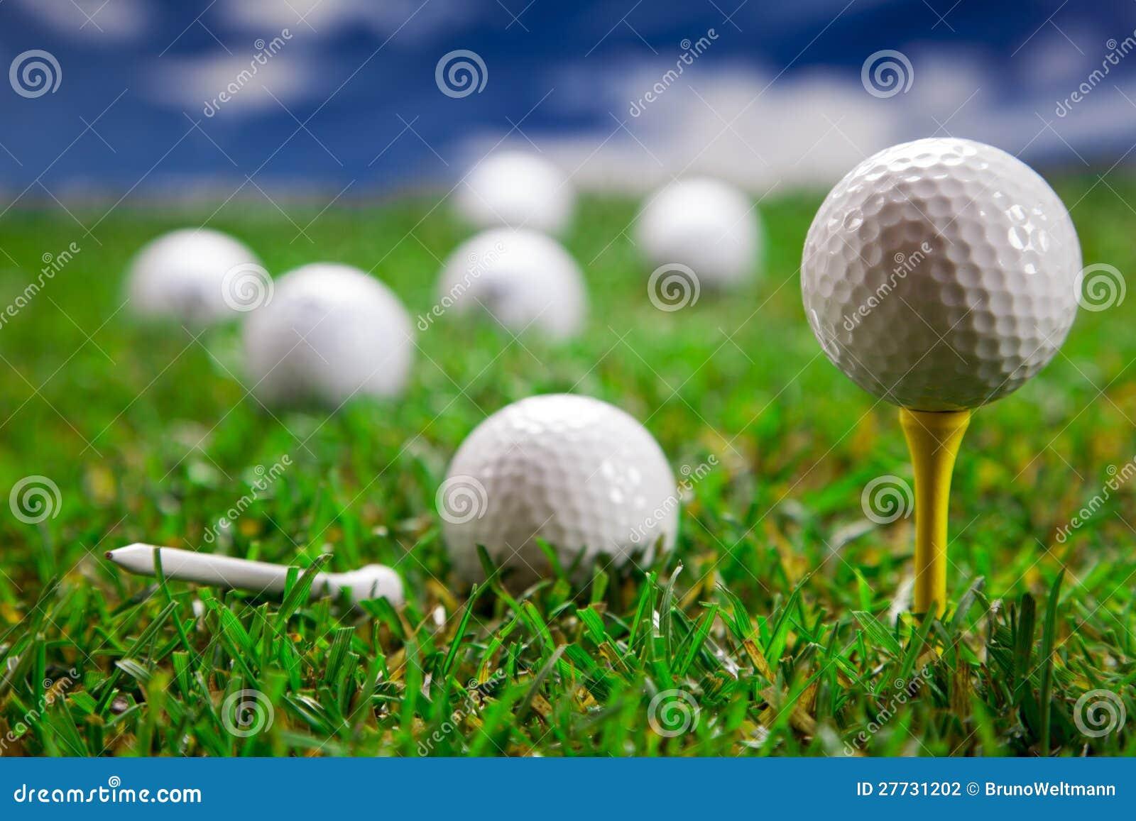 Golfballnahaufnahme