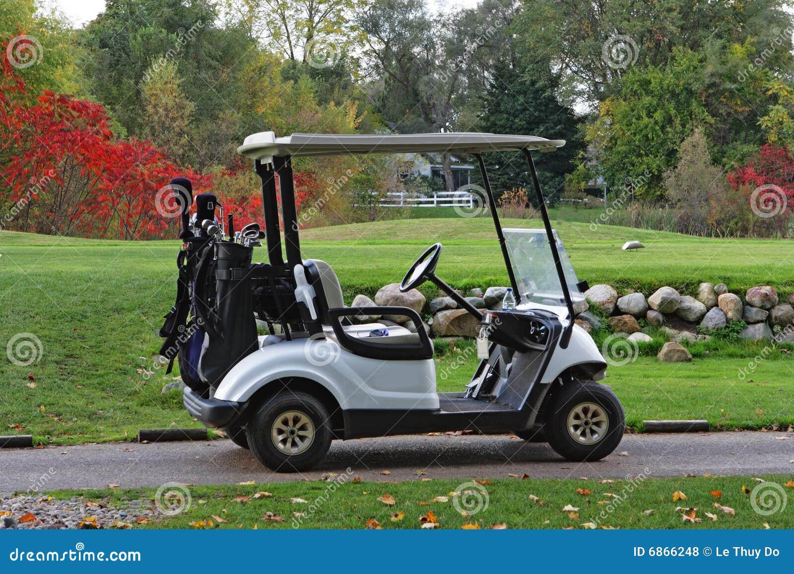 Golfcart осени
