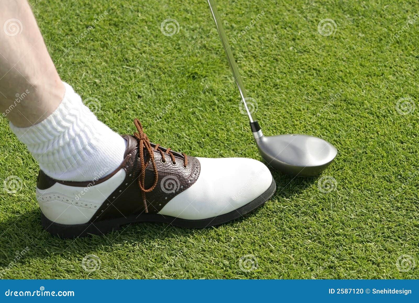 Golfclub en Schoen