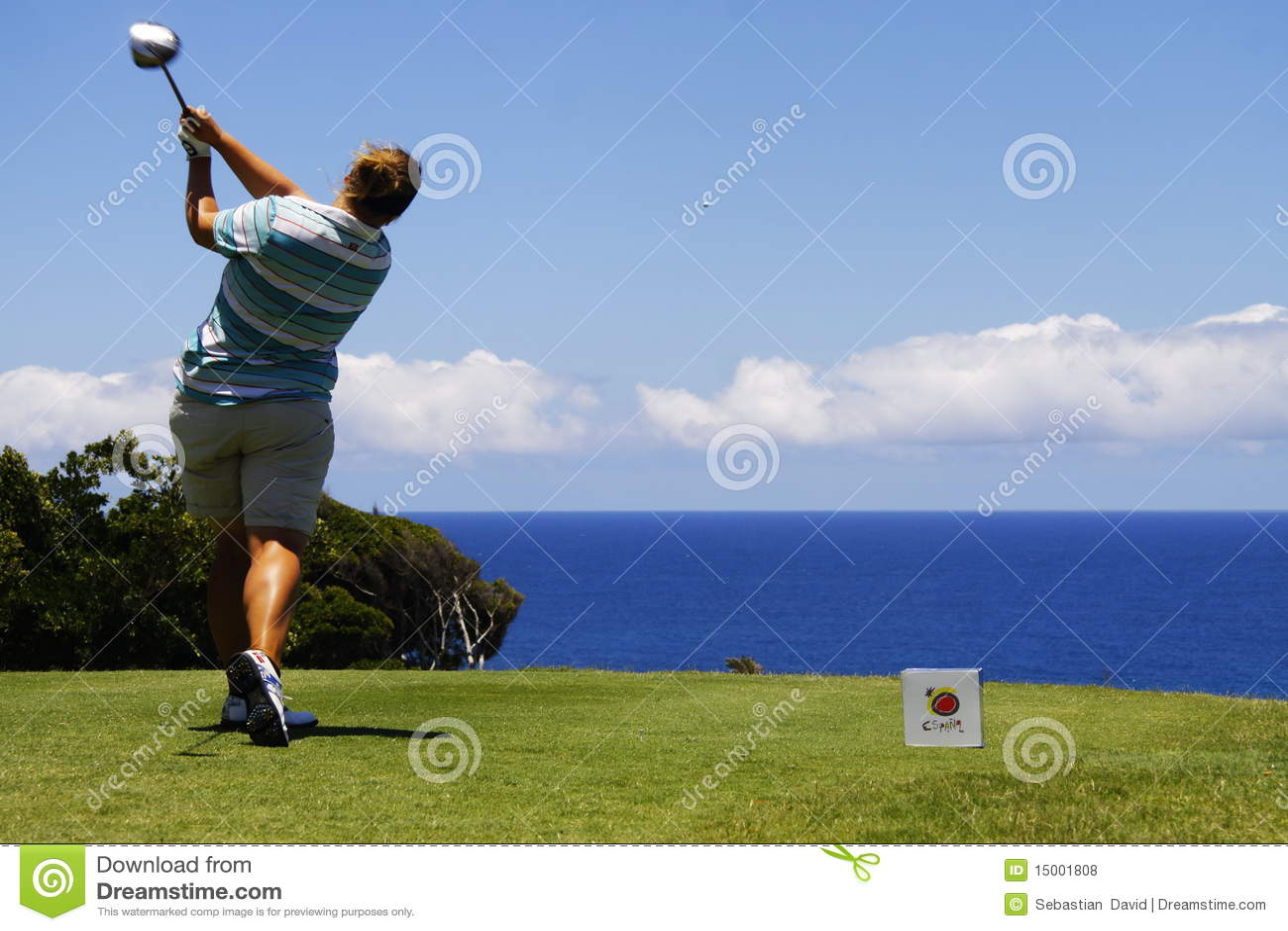 Golfdamtoaletten öppnar tenerife