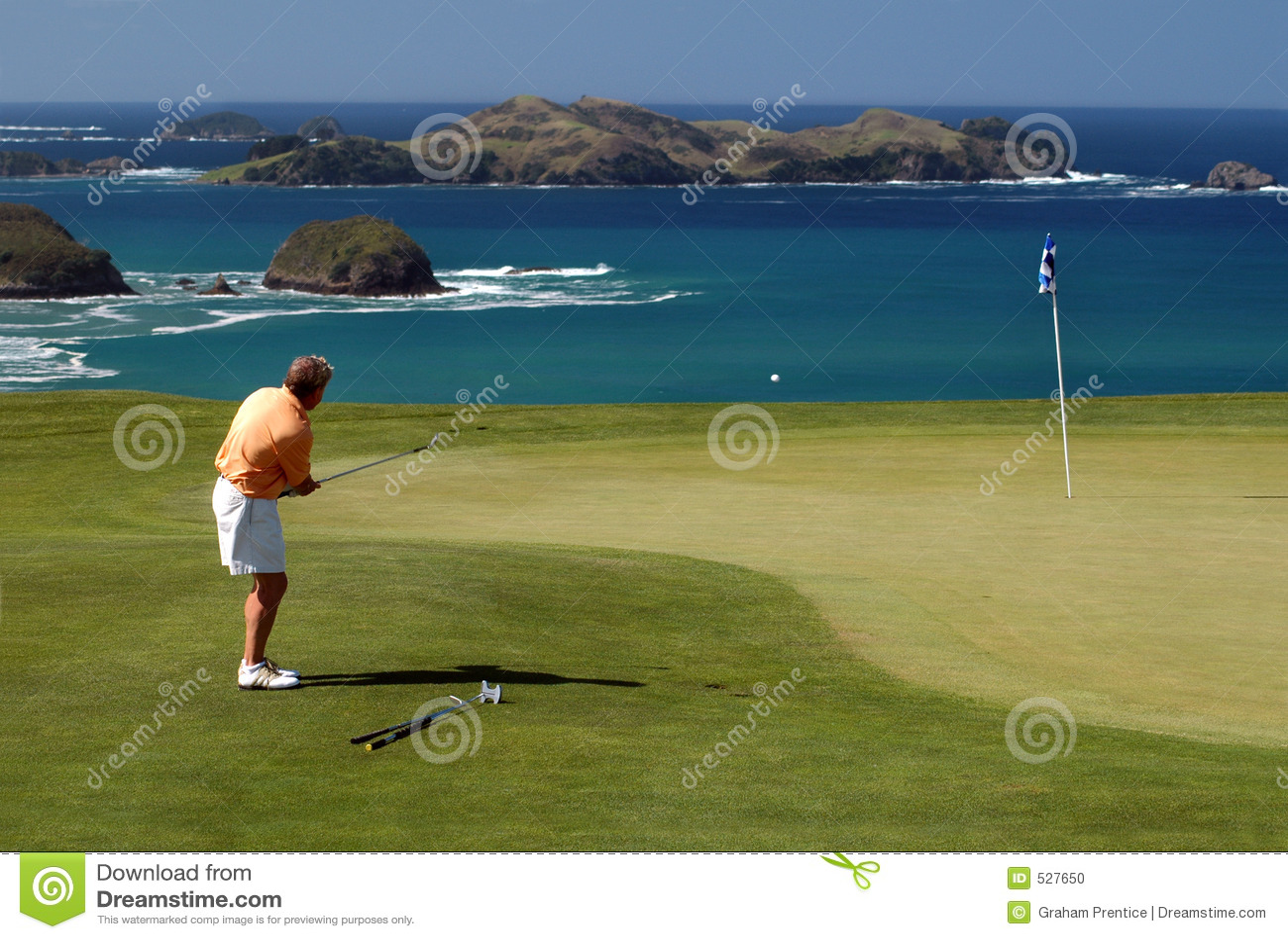Golfe - microplaqueta