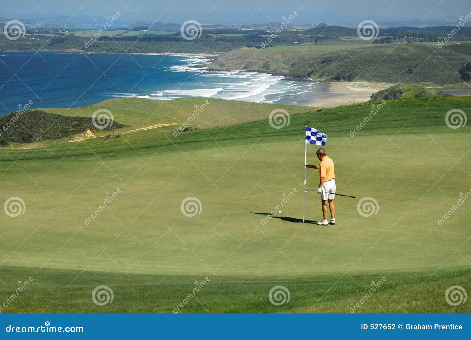Golfe - remova o pino