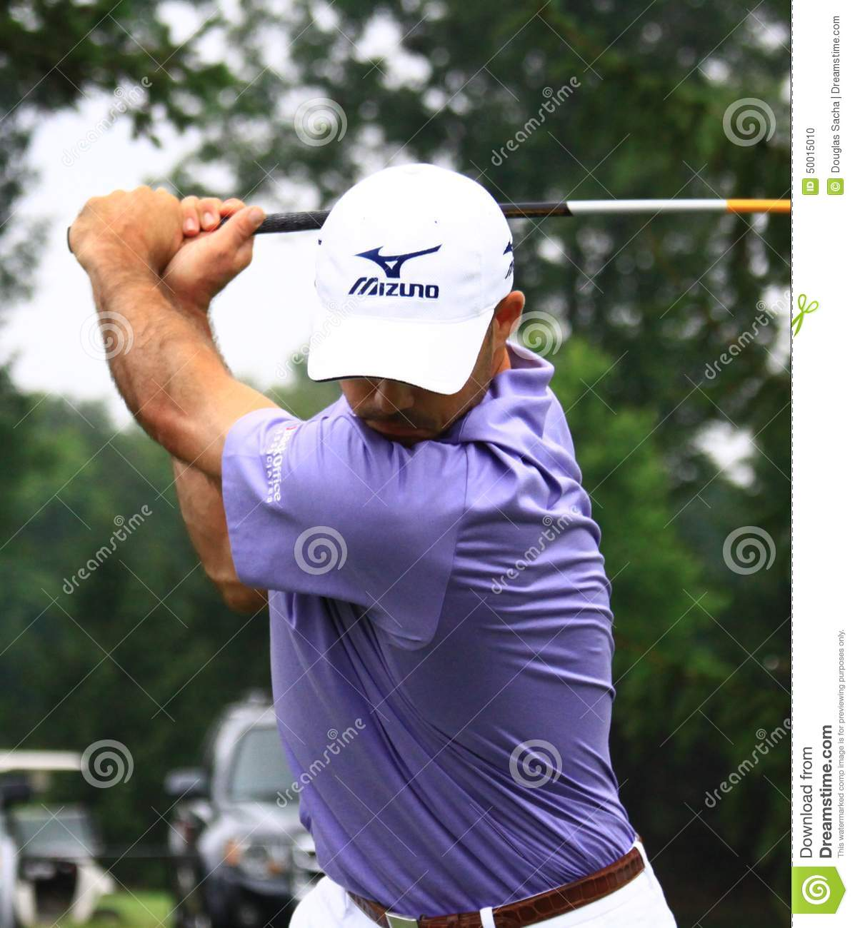 Download Golfer Jonathan Byrd editorial image. Image of concentration - 50015010