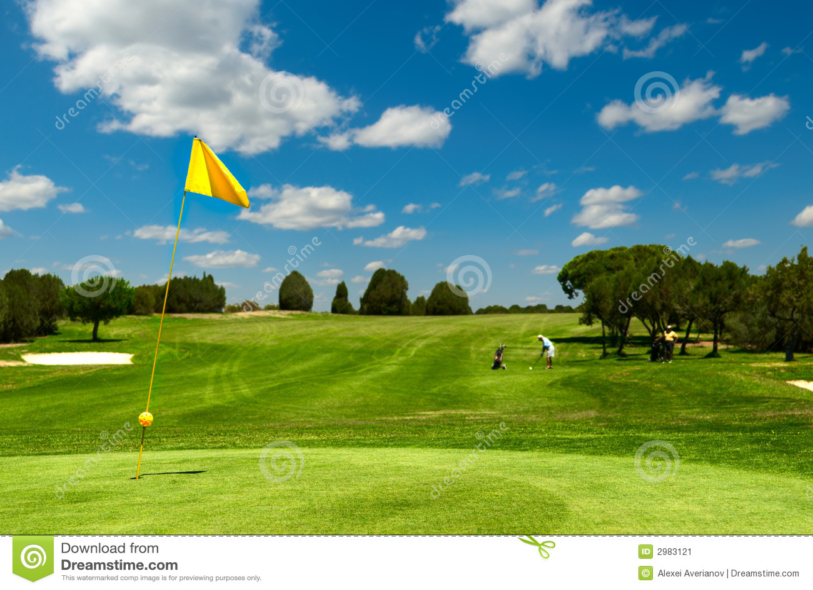 Golffeld