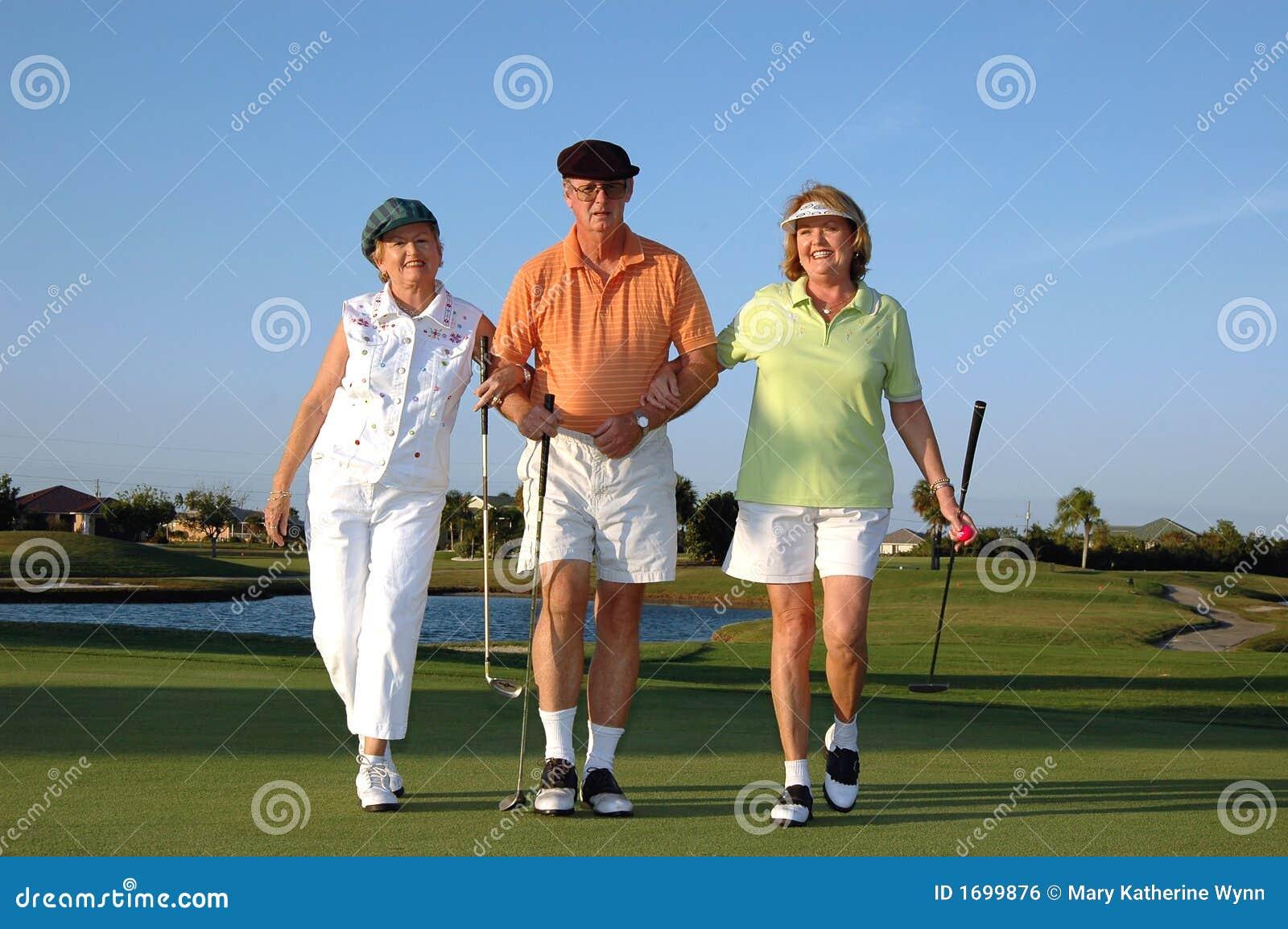 Golfiści szczęśliwi