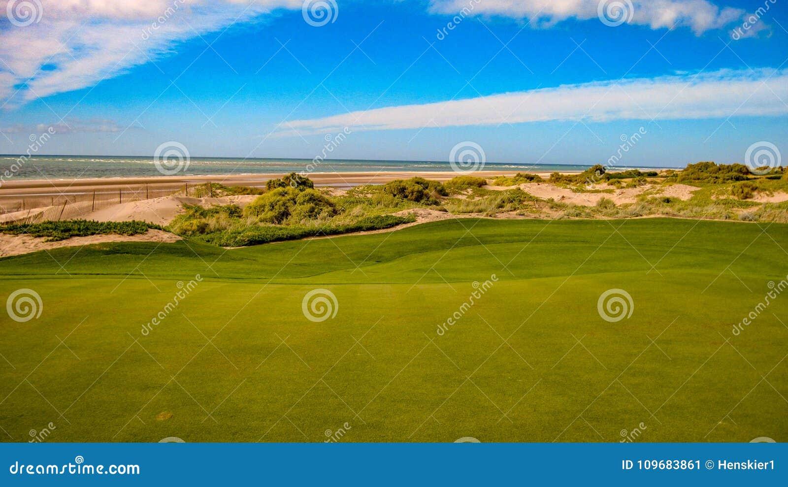 Golfing At Vidanta Golf Course At The Mayan