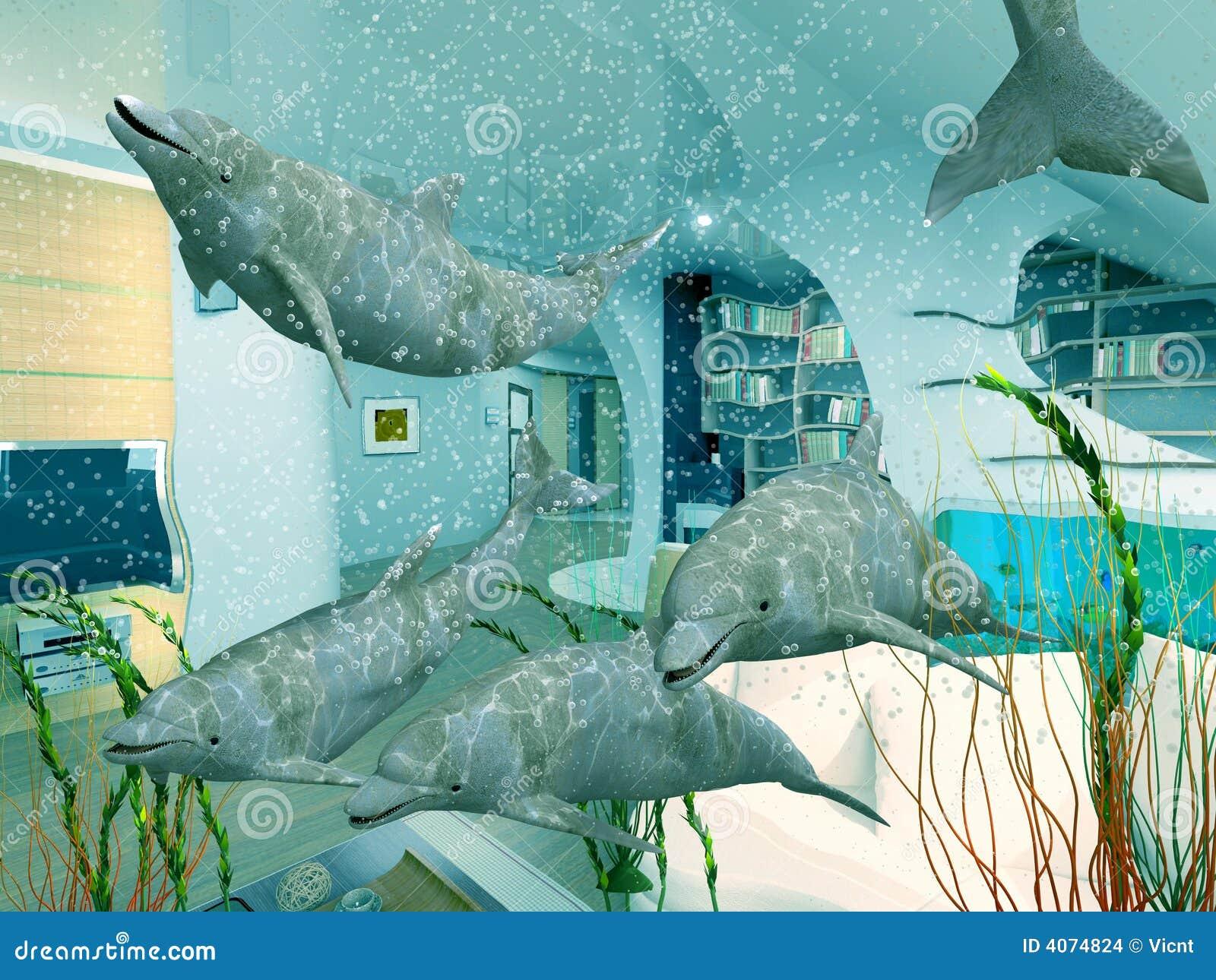 Golfinhos domésticos
