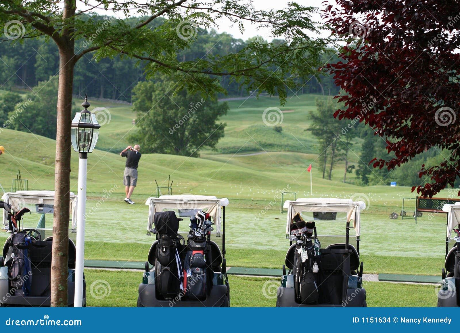 Golfista de la madrugada