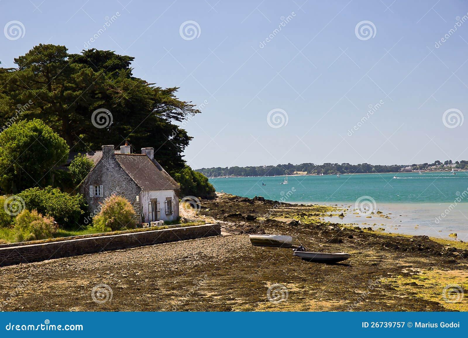 Golfo de Morbihan - casa do pescador