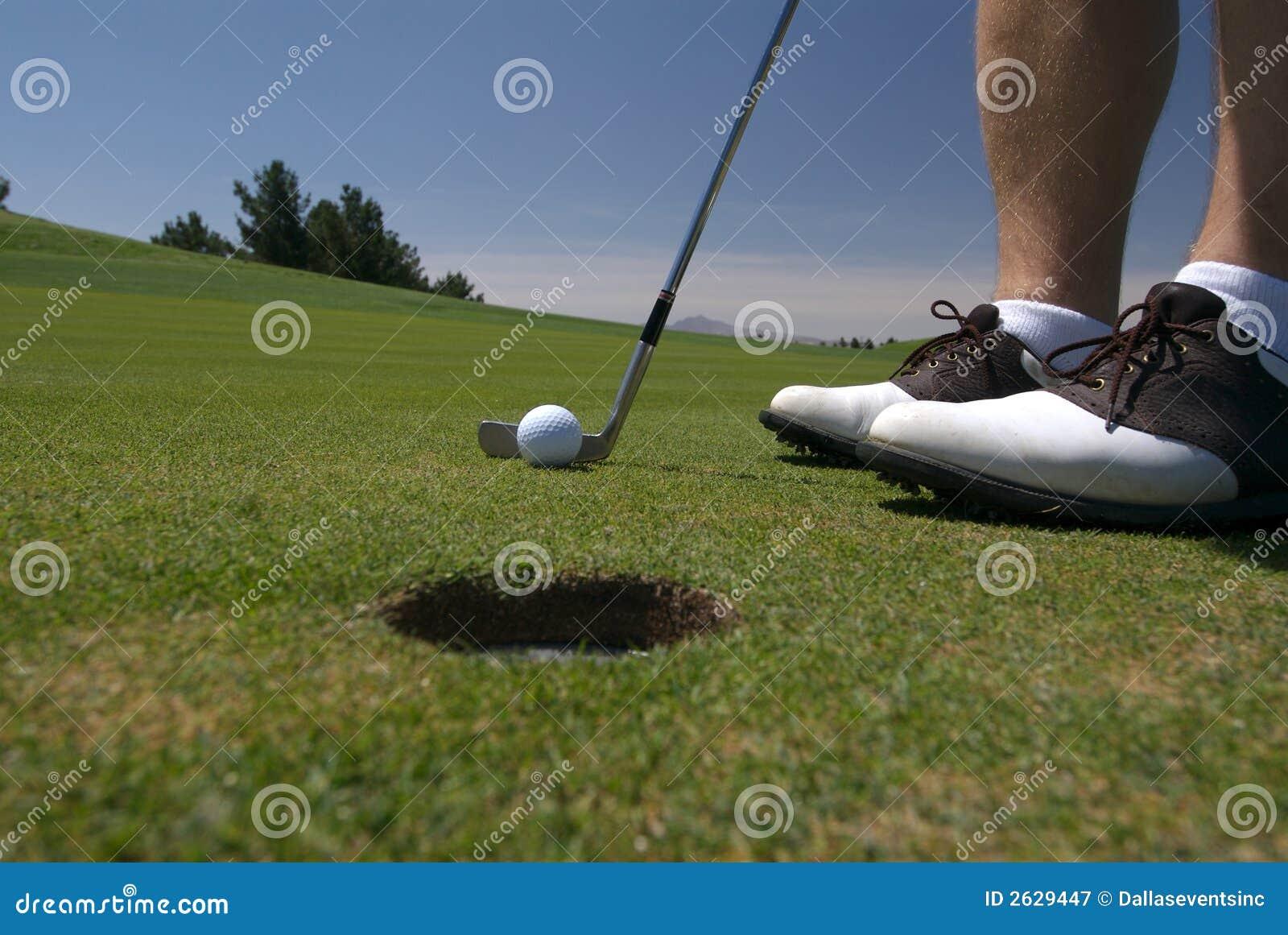 Golfputt till