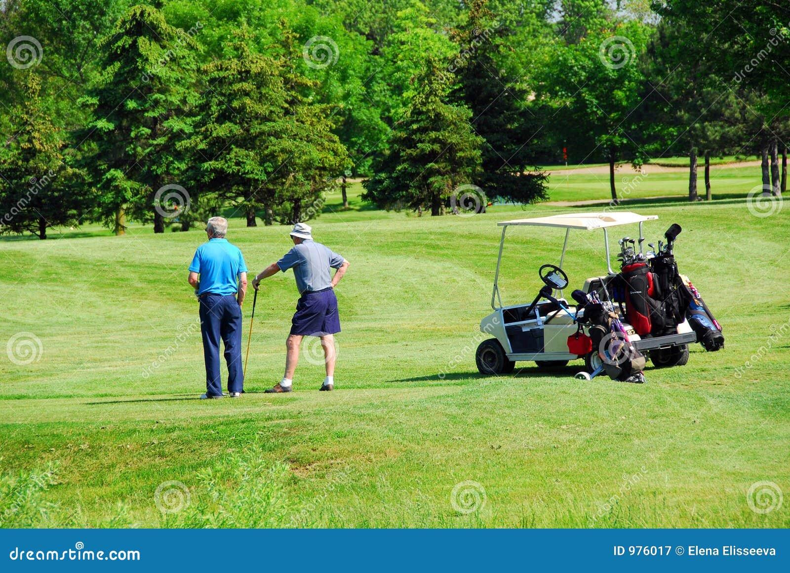 Golfspelpensionärer