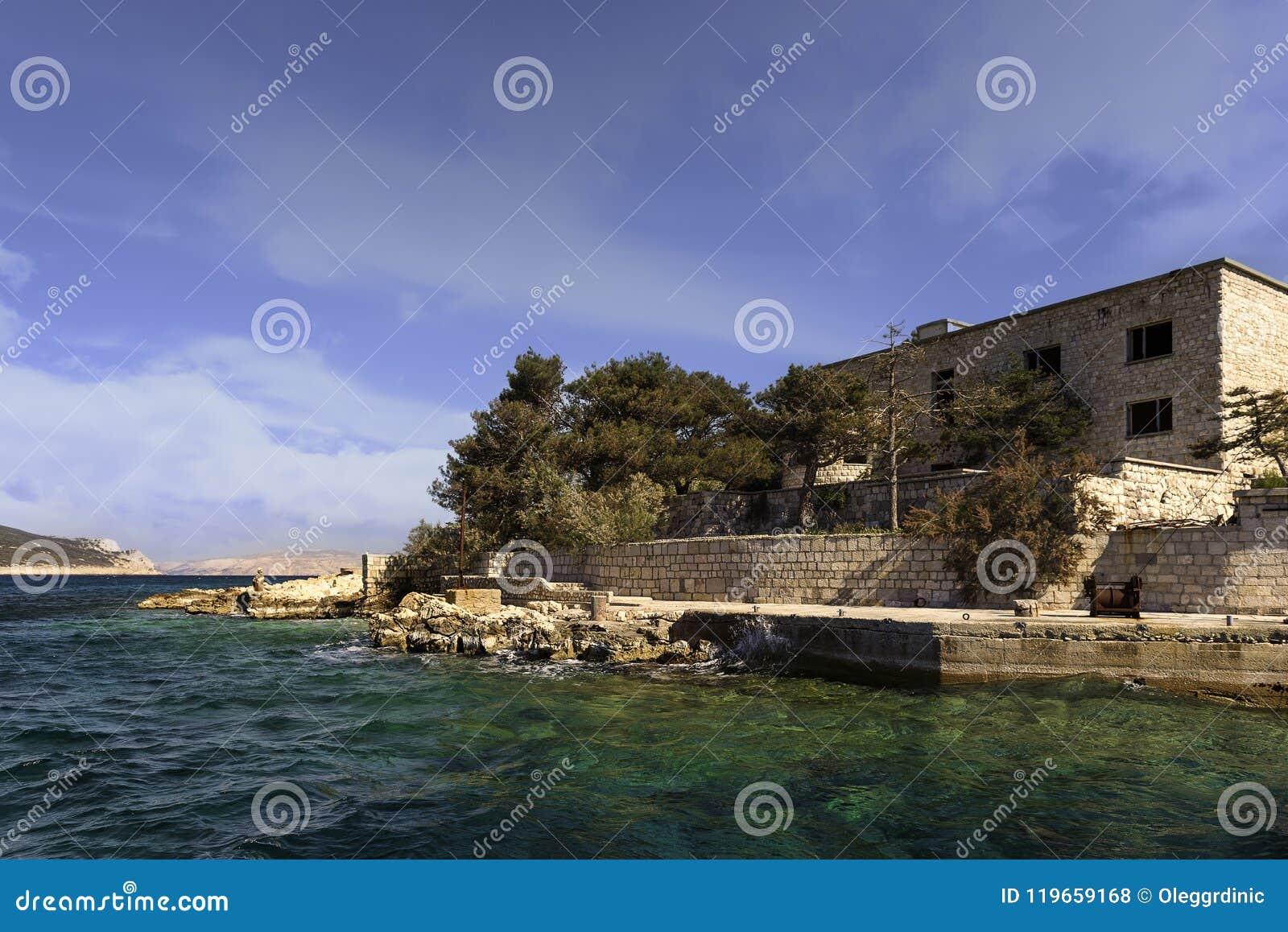 Goli Otok Kroatien