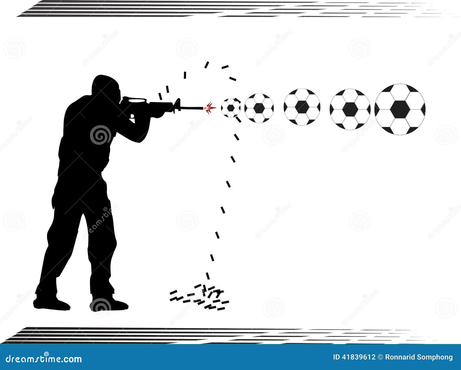 El Portero Del Fútbol Golpeó El Ejemplo Del Vector Del: GOLPE VIOLENTO Team Police De Las Fuerzas Especiales Del