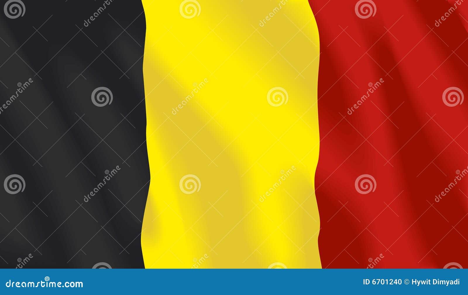 Golvende vlag van België