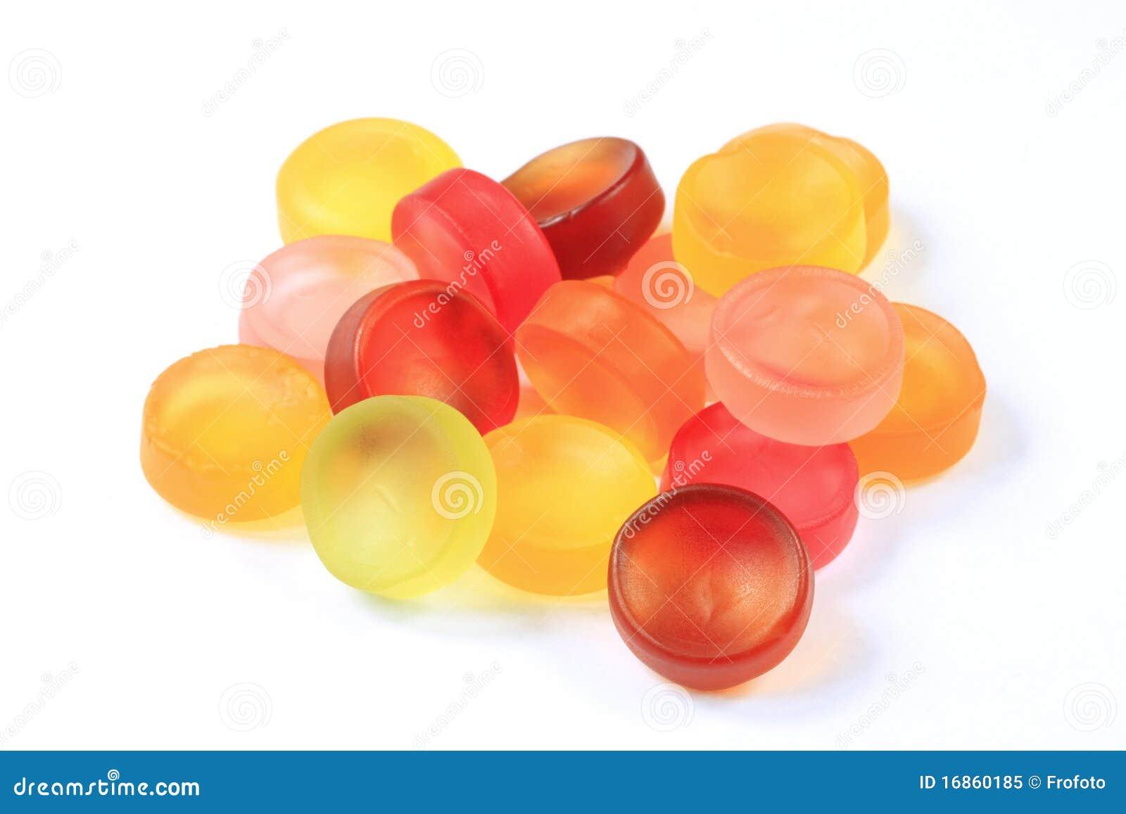 Gomme aux fruits