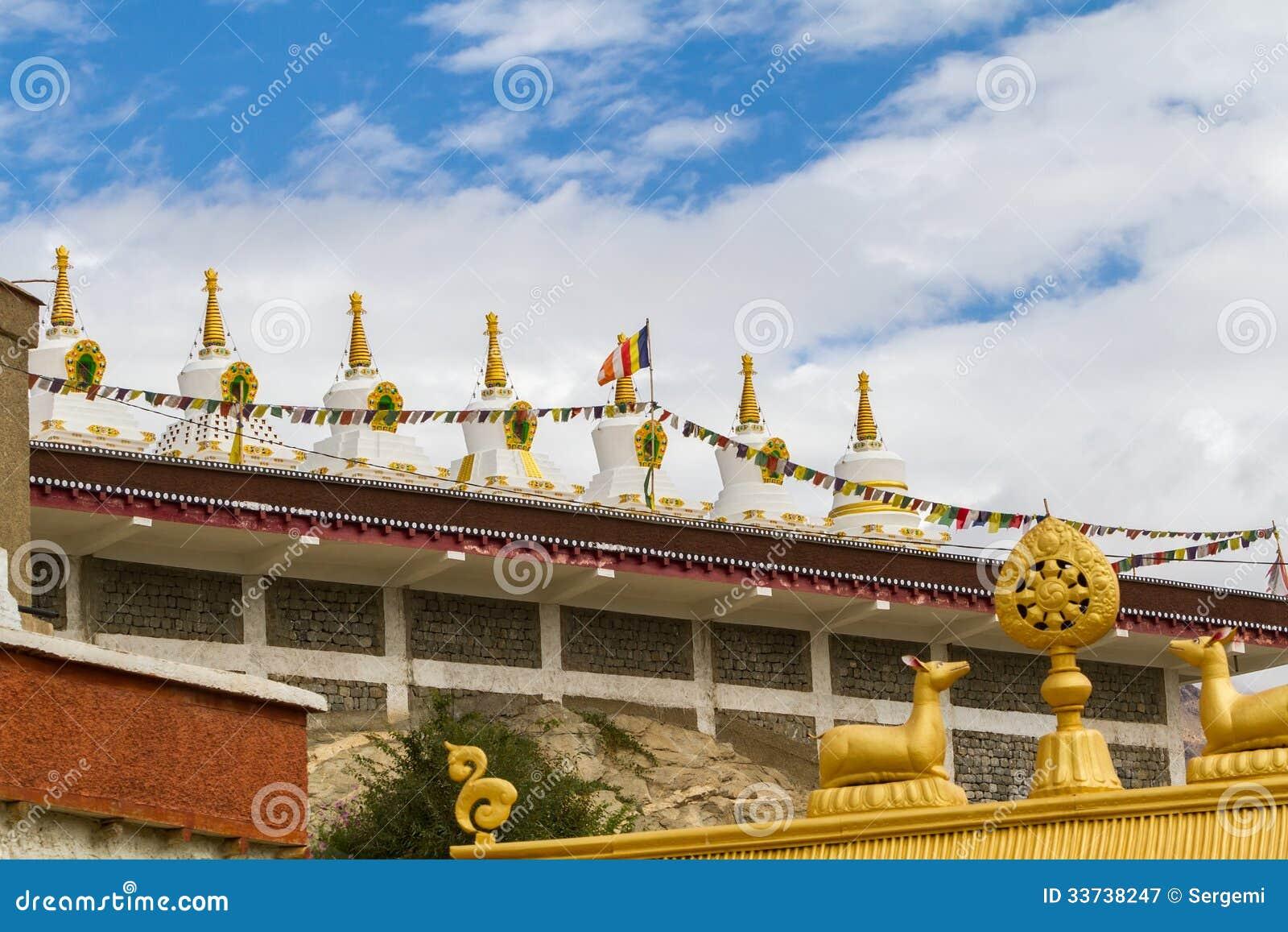 Gompa в индийских Гималаях