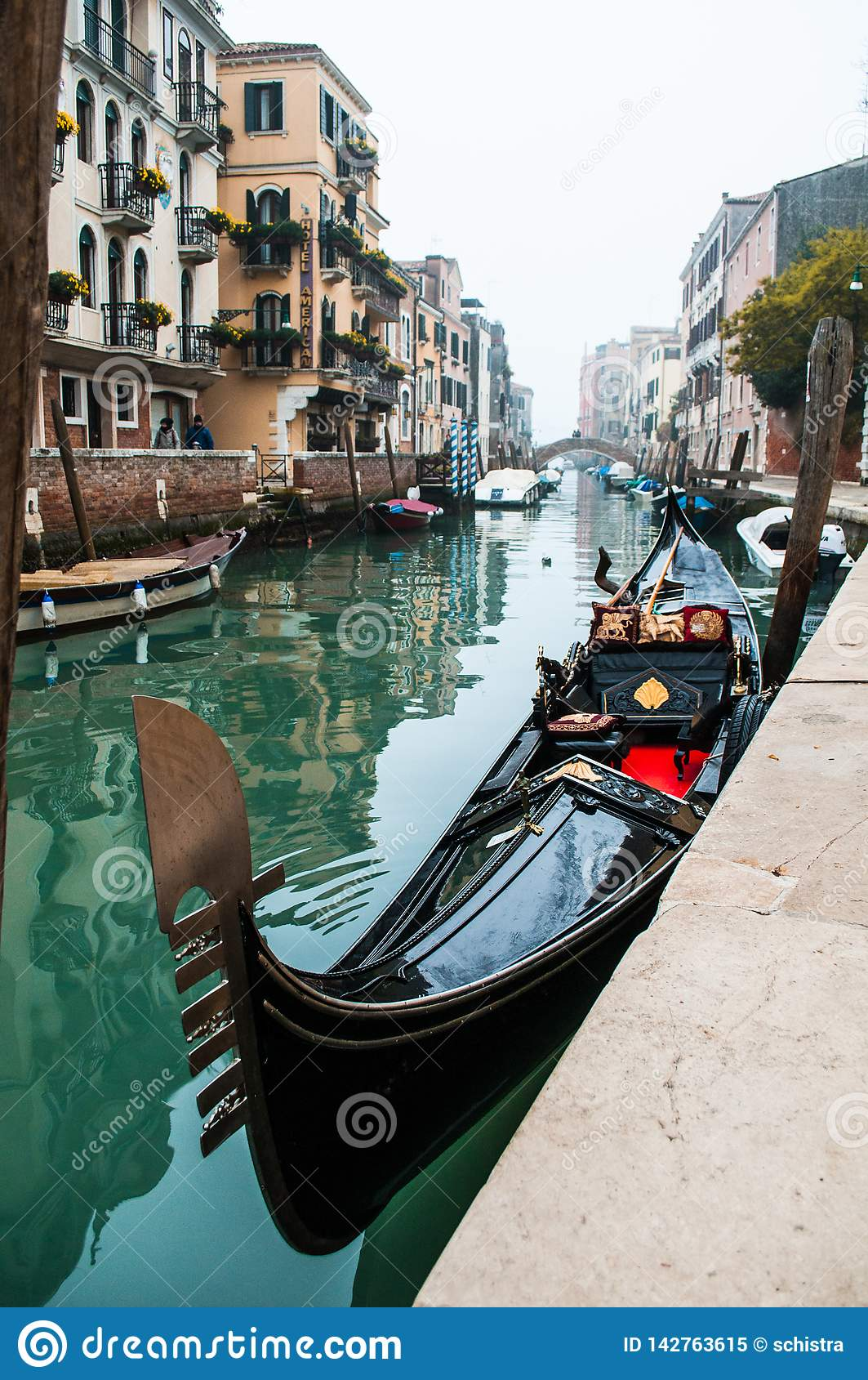 Gondola a Venezia, Italia