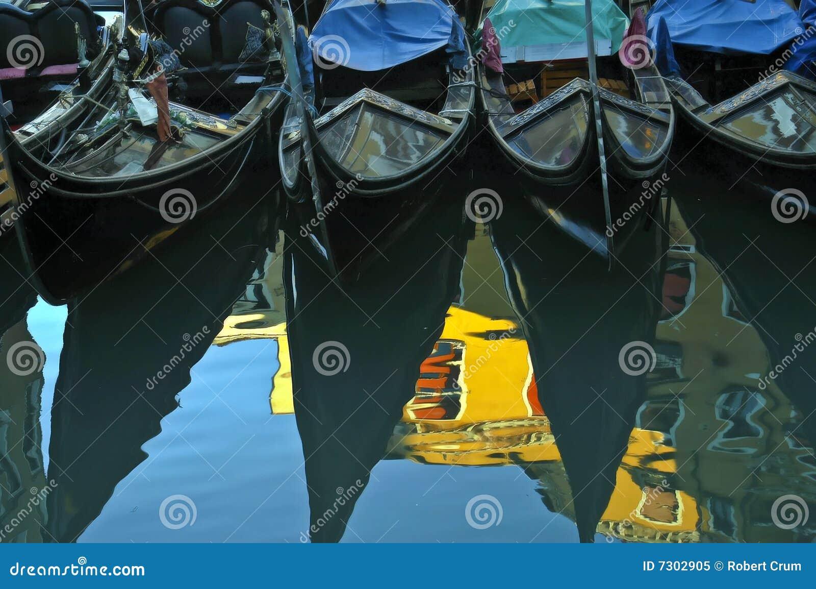 Download Gondole, Venezia. immagine stock. Immagine di gondola - 7302905