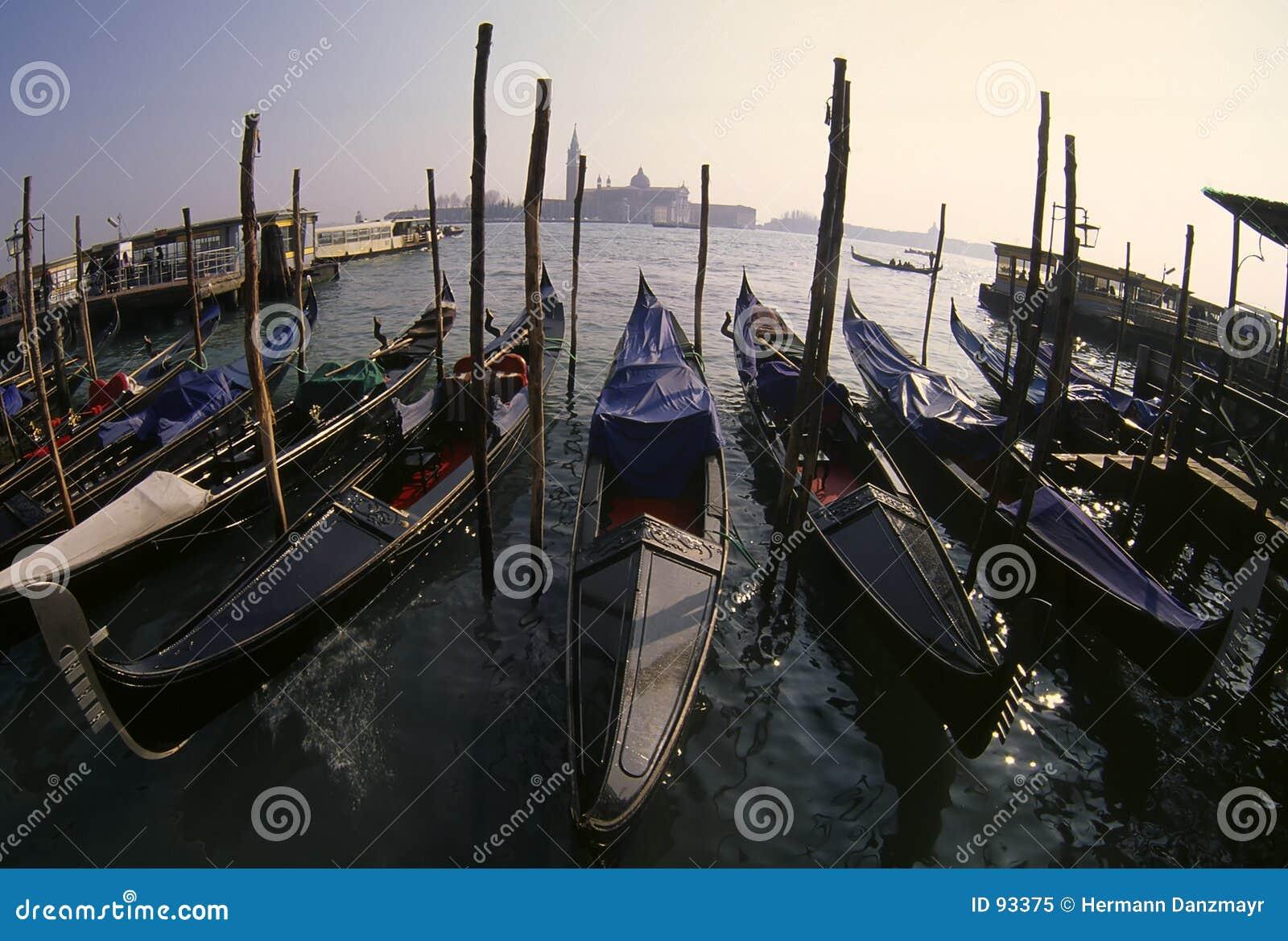 Gondole Wenecji