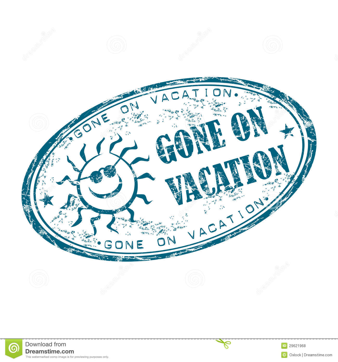 gone on vacation rubber stamp royalty free stock photos free vacation clipart images free vacation clipart images