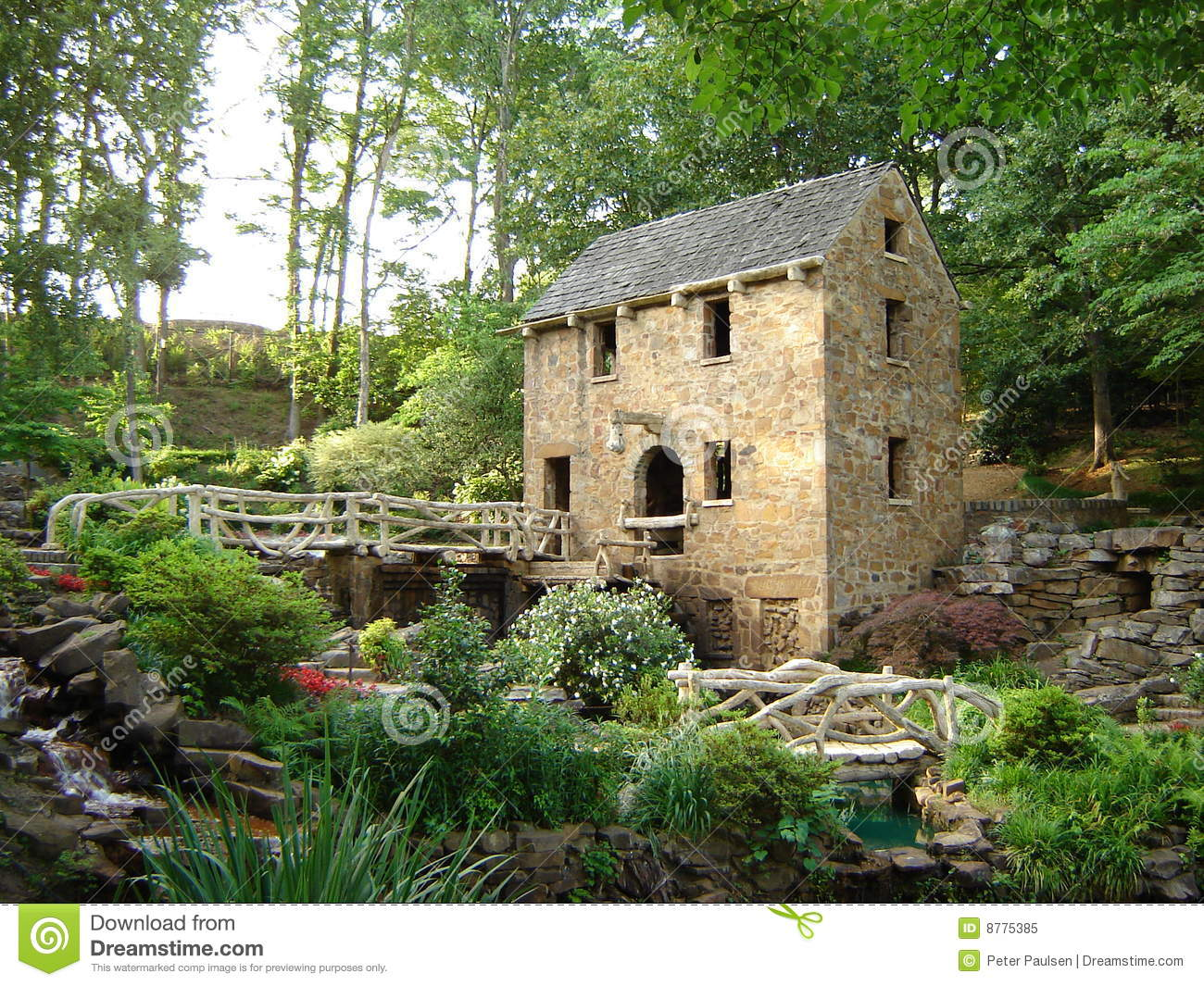 Gone With The Wind Movie Location, The Old Mill Royalty Free Stock Photo - Image: 8775385