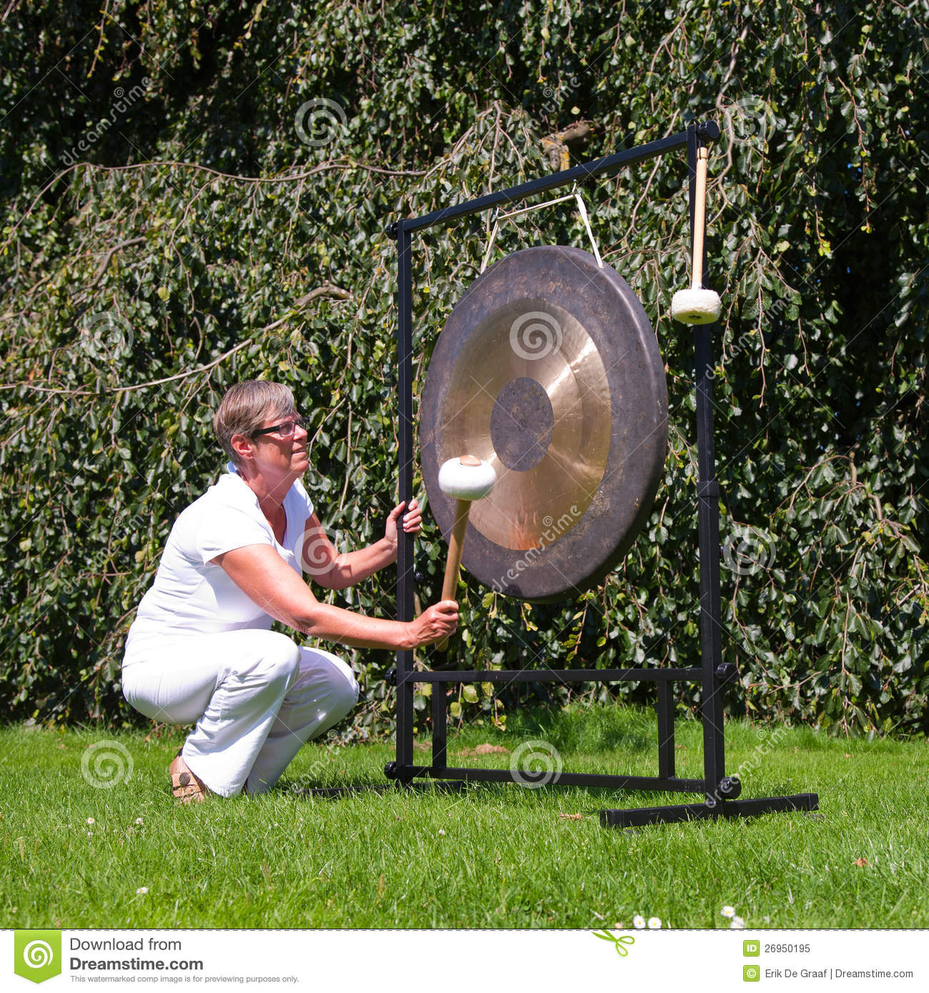 free gong sound