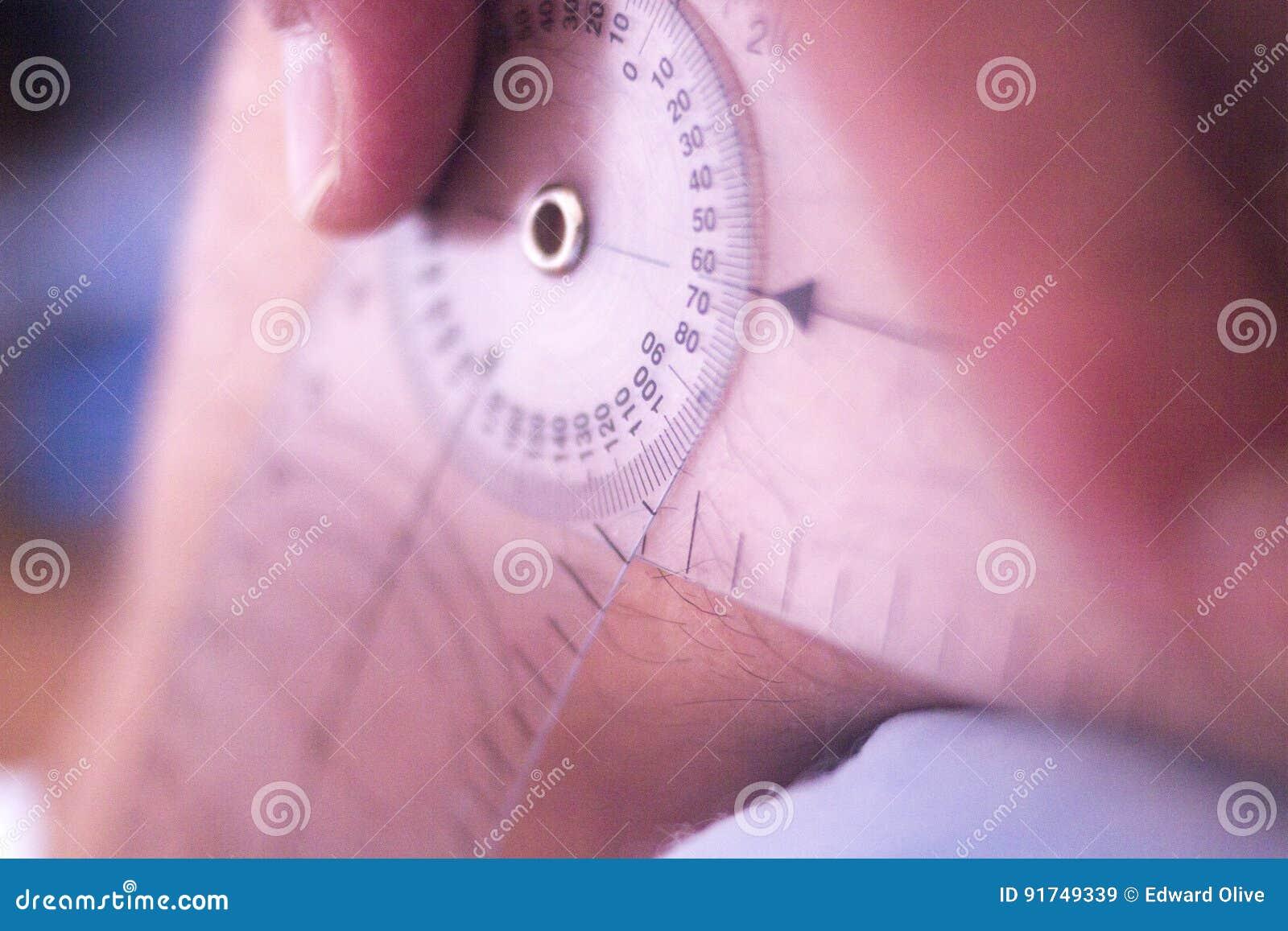 Goniometro di terapia fisica