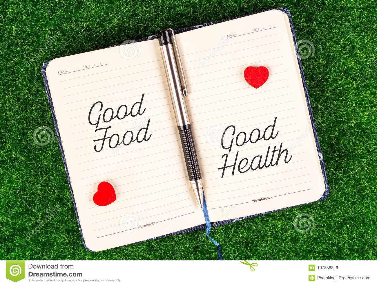 Good food equal good health
