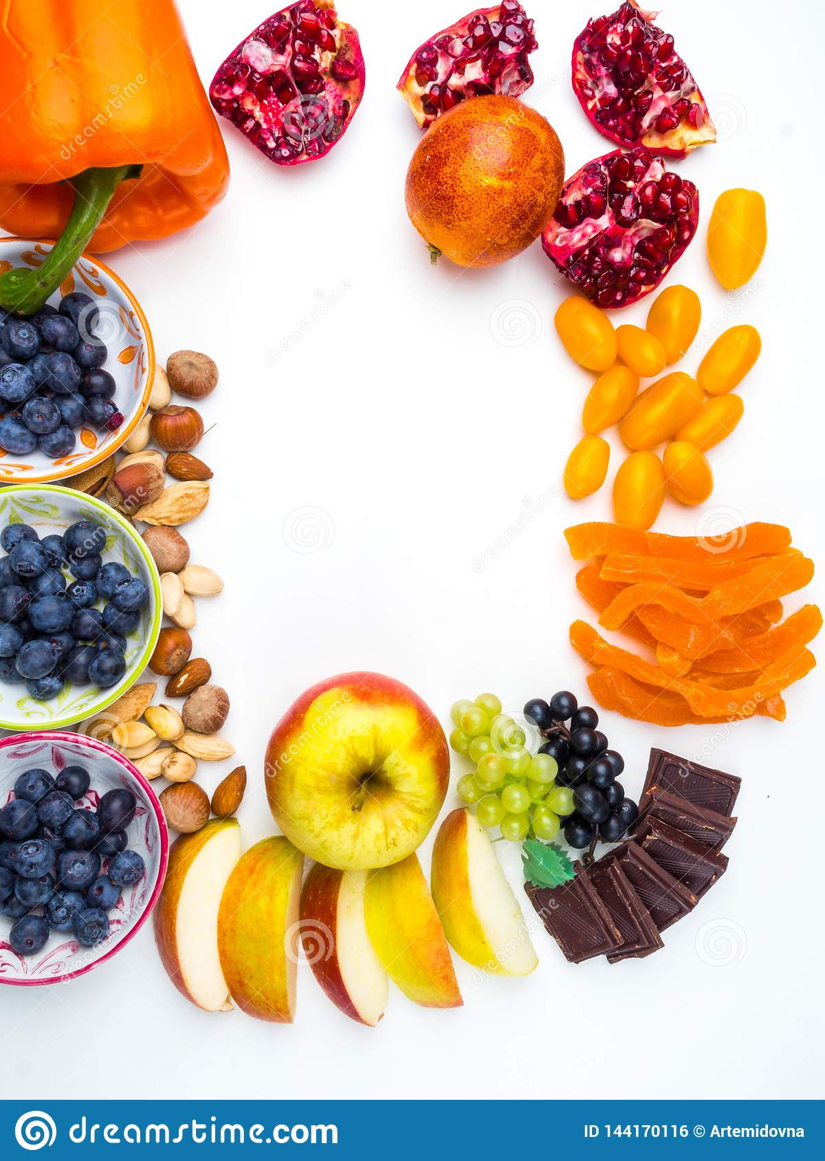 Good Foods For Heart Healthy Diet Super Healthy Food Rich In Antioxidants Good Sources Of Vitamins Resveratrol Stock Photo Image Of Concept Health 144170116
