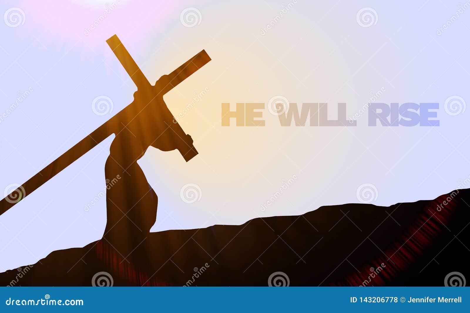 Good Friday/Easter Sunday Background Image