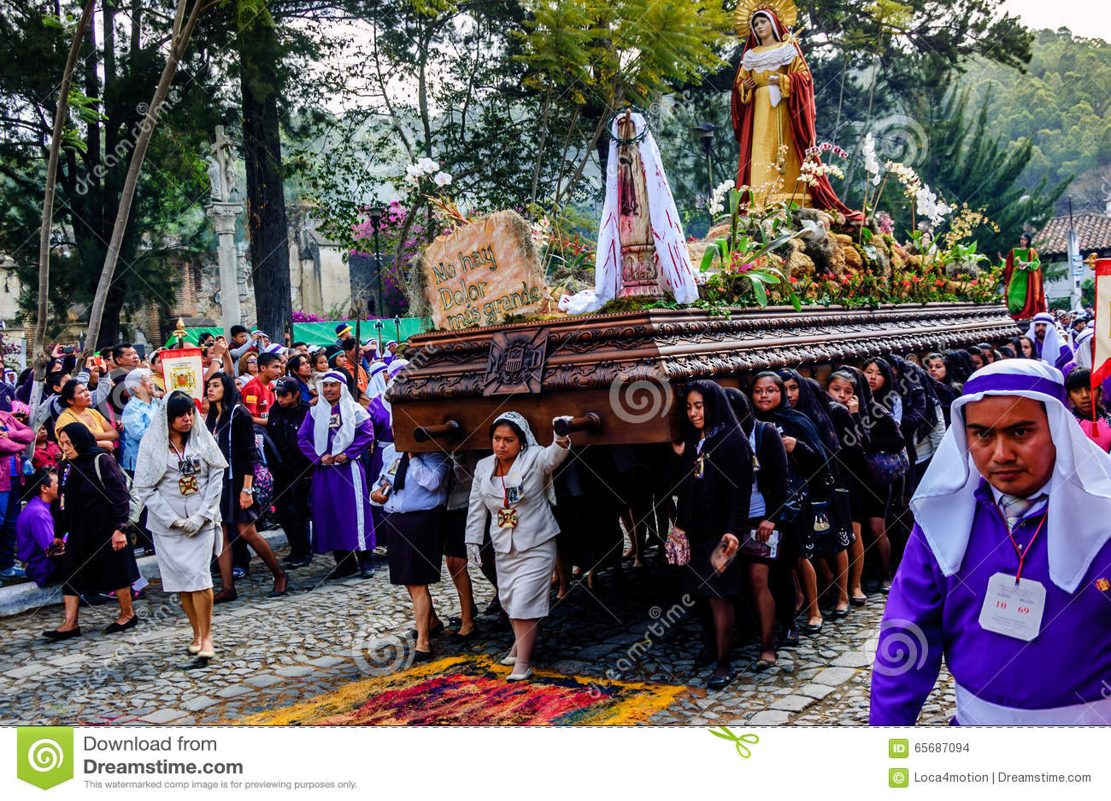 Good Friday procession, Antigua, Guatemala