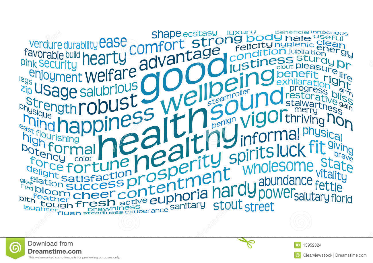 No Credit Check Credit Cards >> Good Health And Wellbeing Tag Cloud Stock Images - Image ...