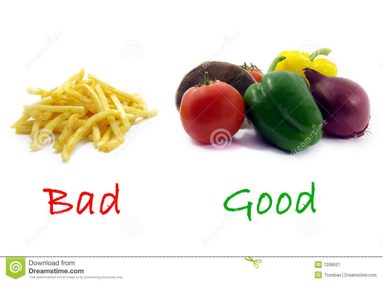 Management Of Health And Unhealthy Food