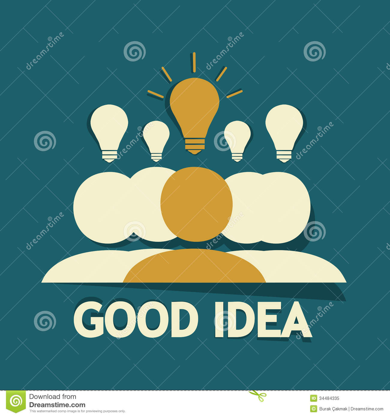 good idea royalty free stock photo image 34484335