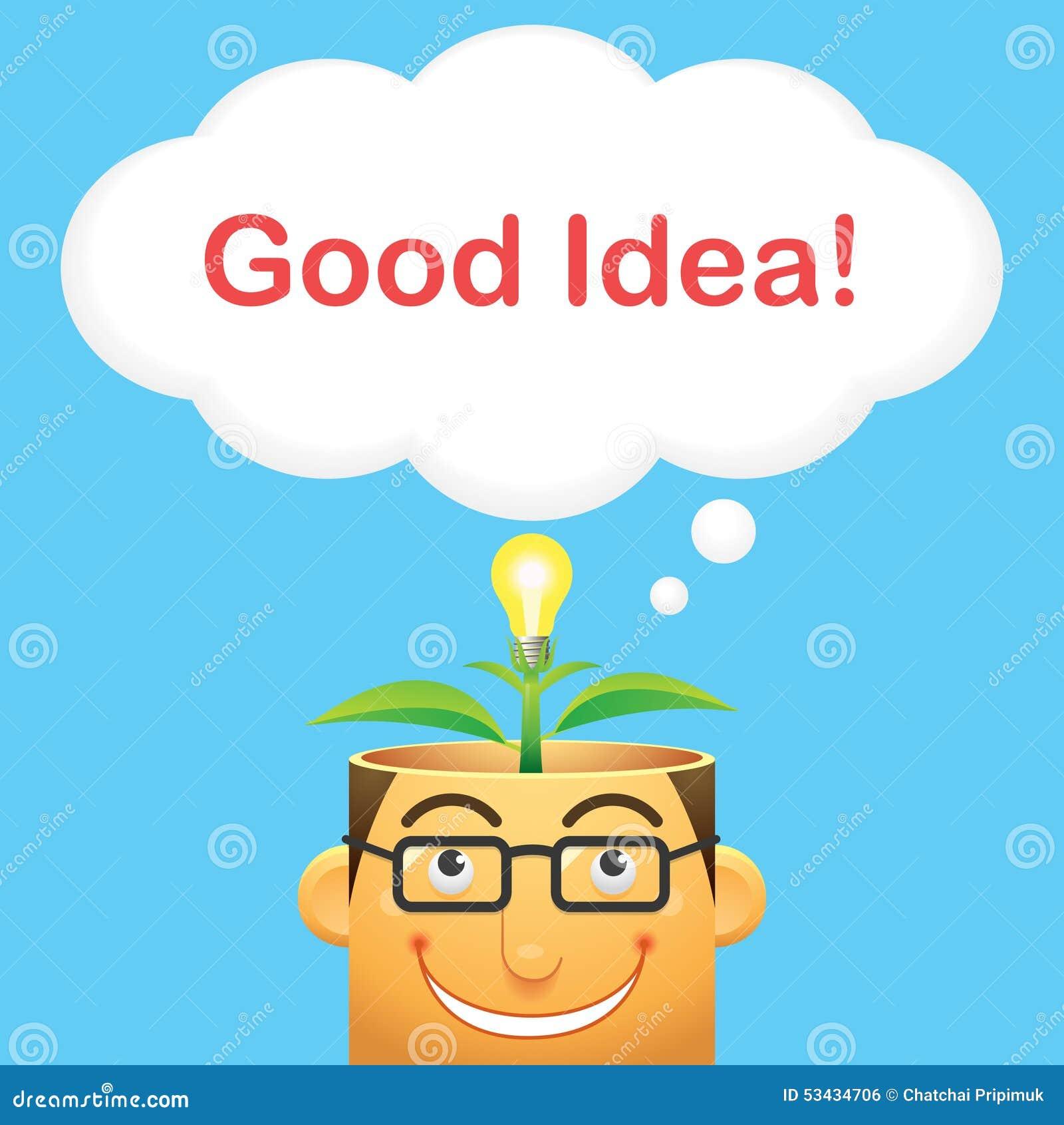 Good Idea Vector Stock Vector Image 53434706